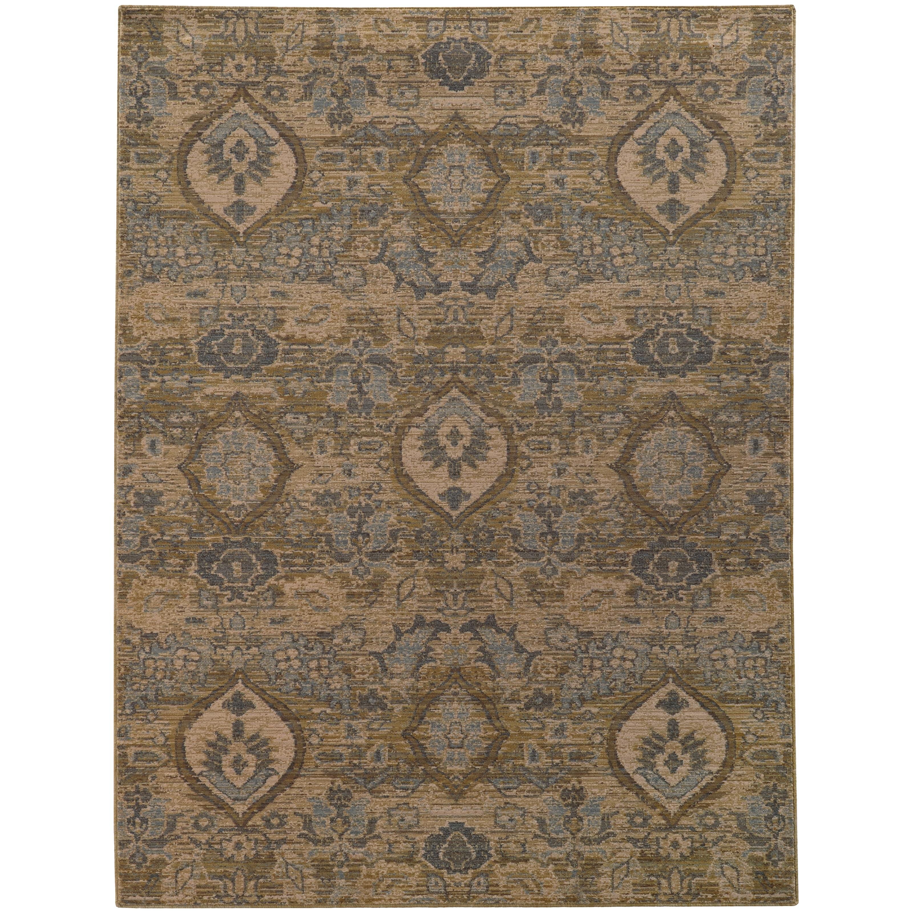 """Oriental Weavers Heritage 5' 3"""" X  7' 6"""" Rug - Item Number: H4925W160230ST"""