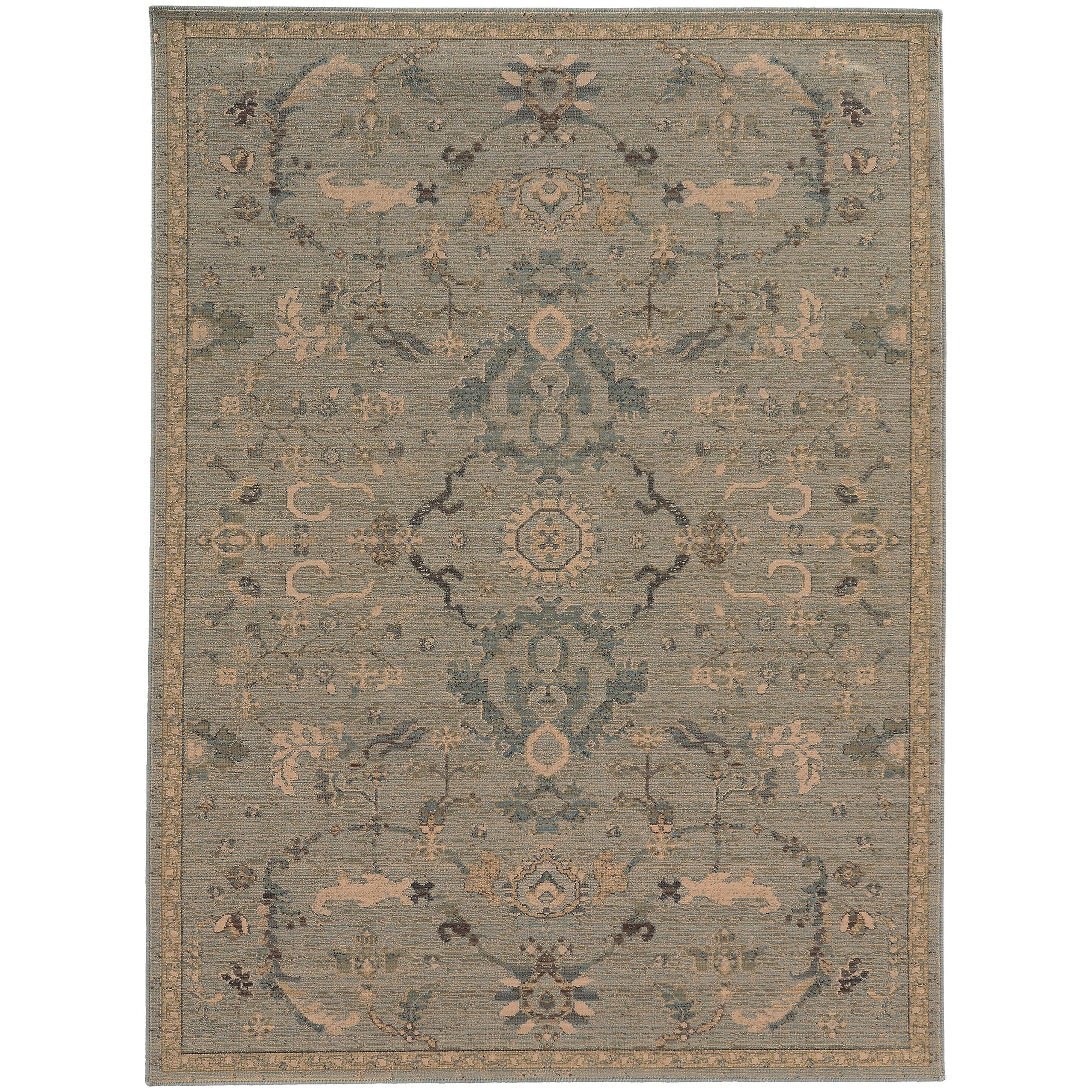 """Oriental Weavers Heritage 3'10"""" X  5' 5"""" Rug - Item Number: H533L5117165ST"""