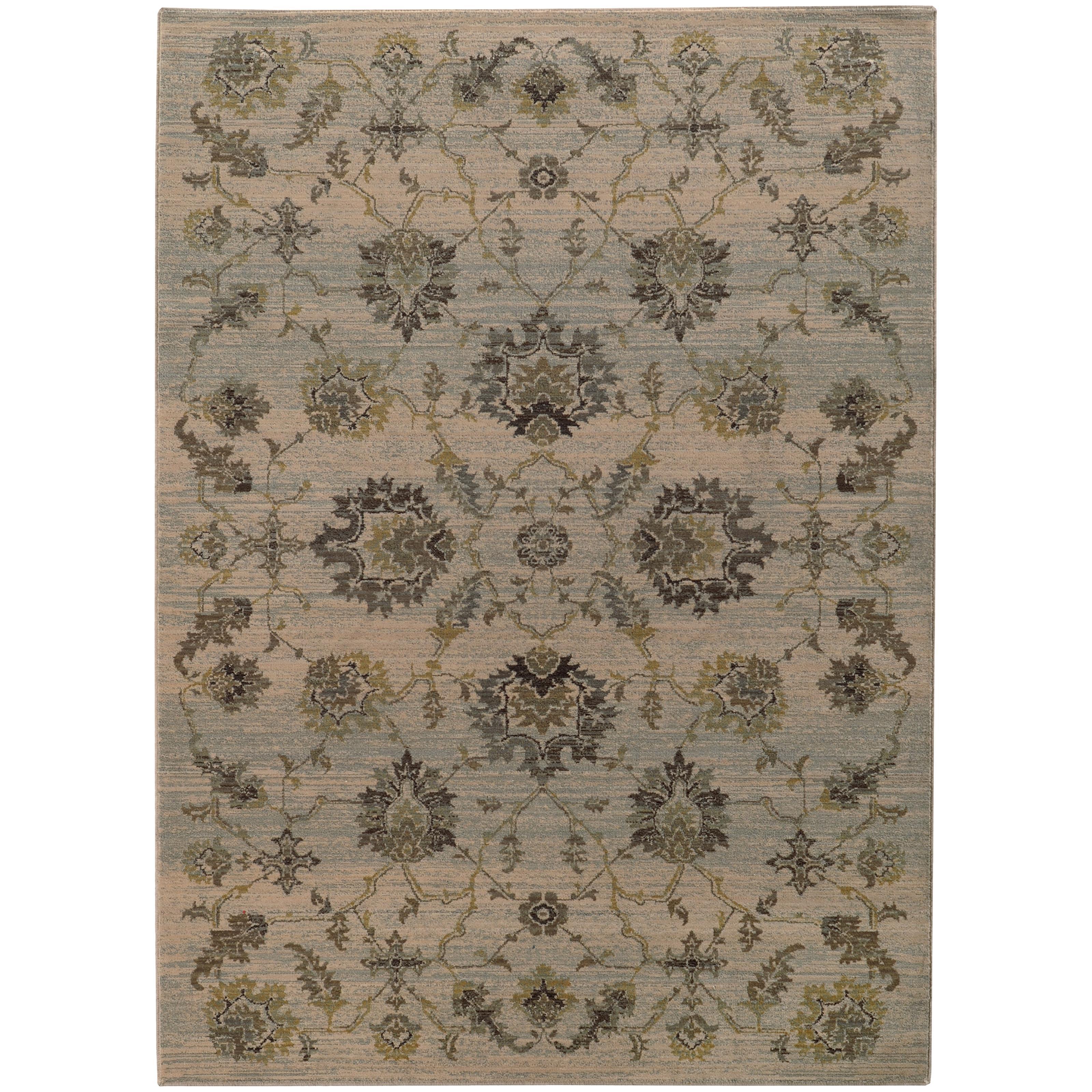 """Oriental Weavers Heritage 3'10"""" X  5' 5"""" Rug - Item Number: H5996H117165ST"""
