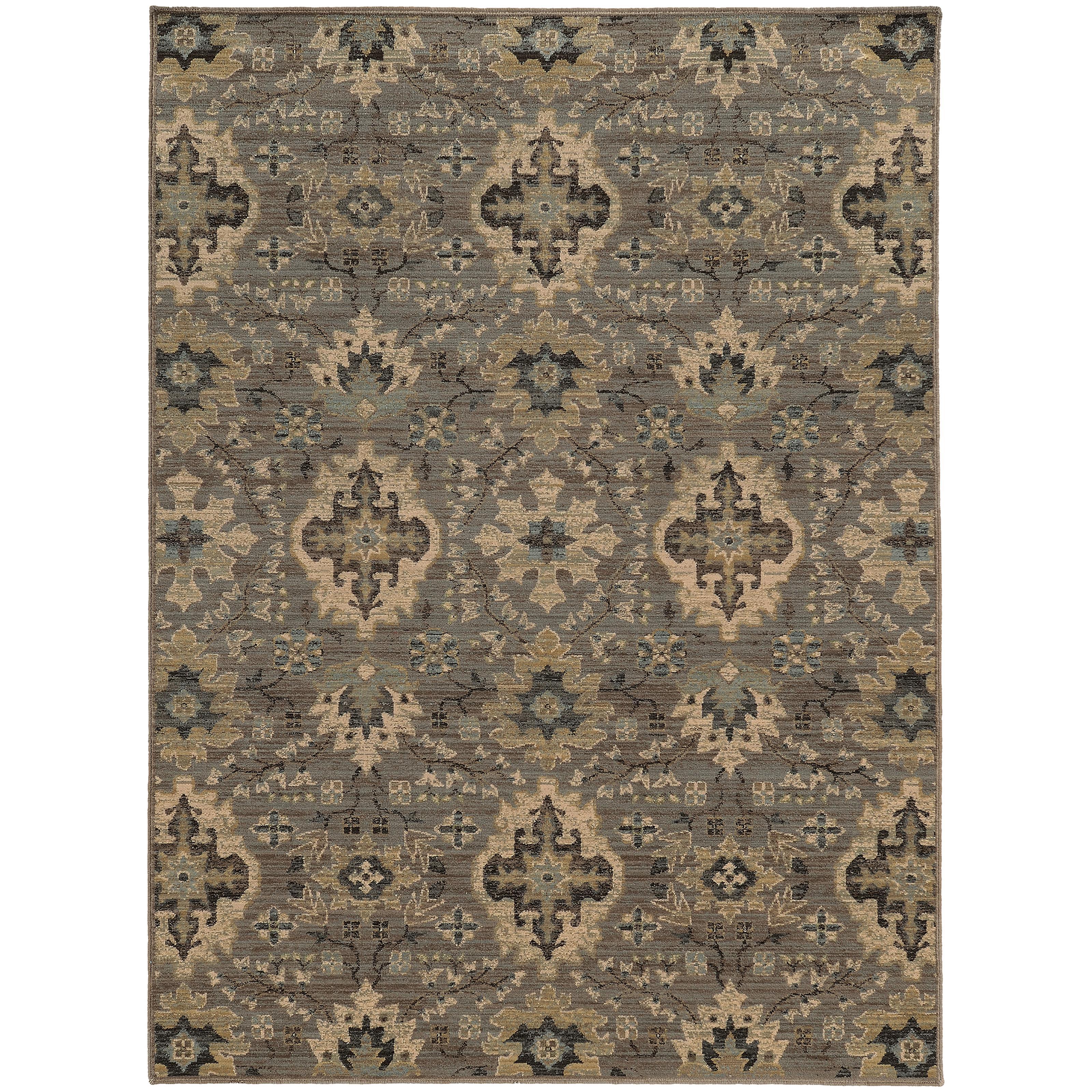 "Oriental Weavers Heritage 2' 7"" X  9' 4"" Rug - Item Number: H8028E080285ST"