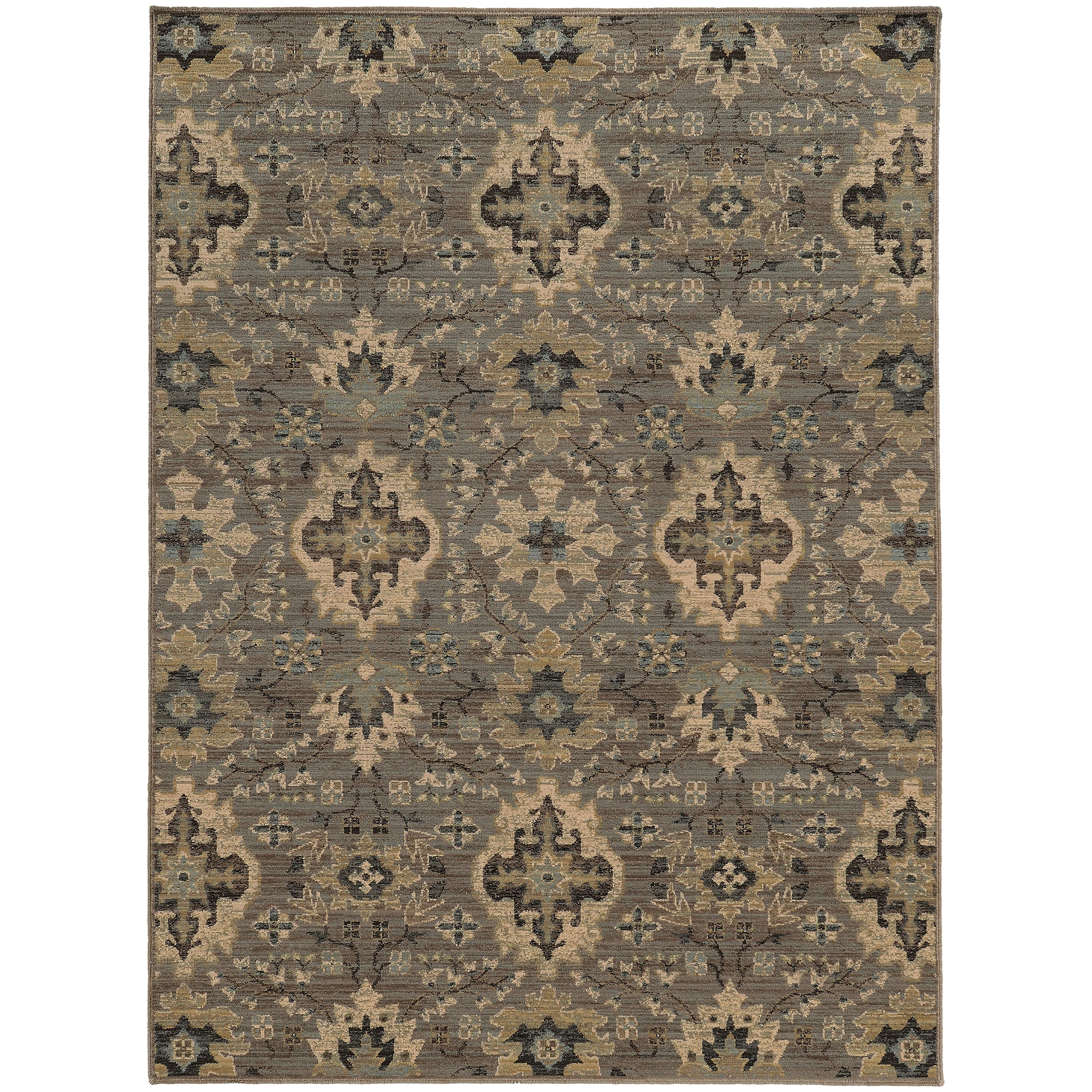 "Oriental Weavers Heritage 9'10"" X 12'10"" Rug - Item Number: H8028E300390ST"