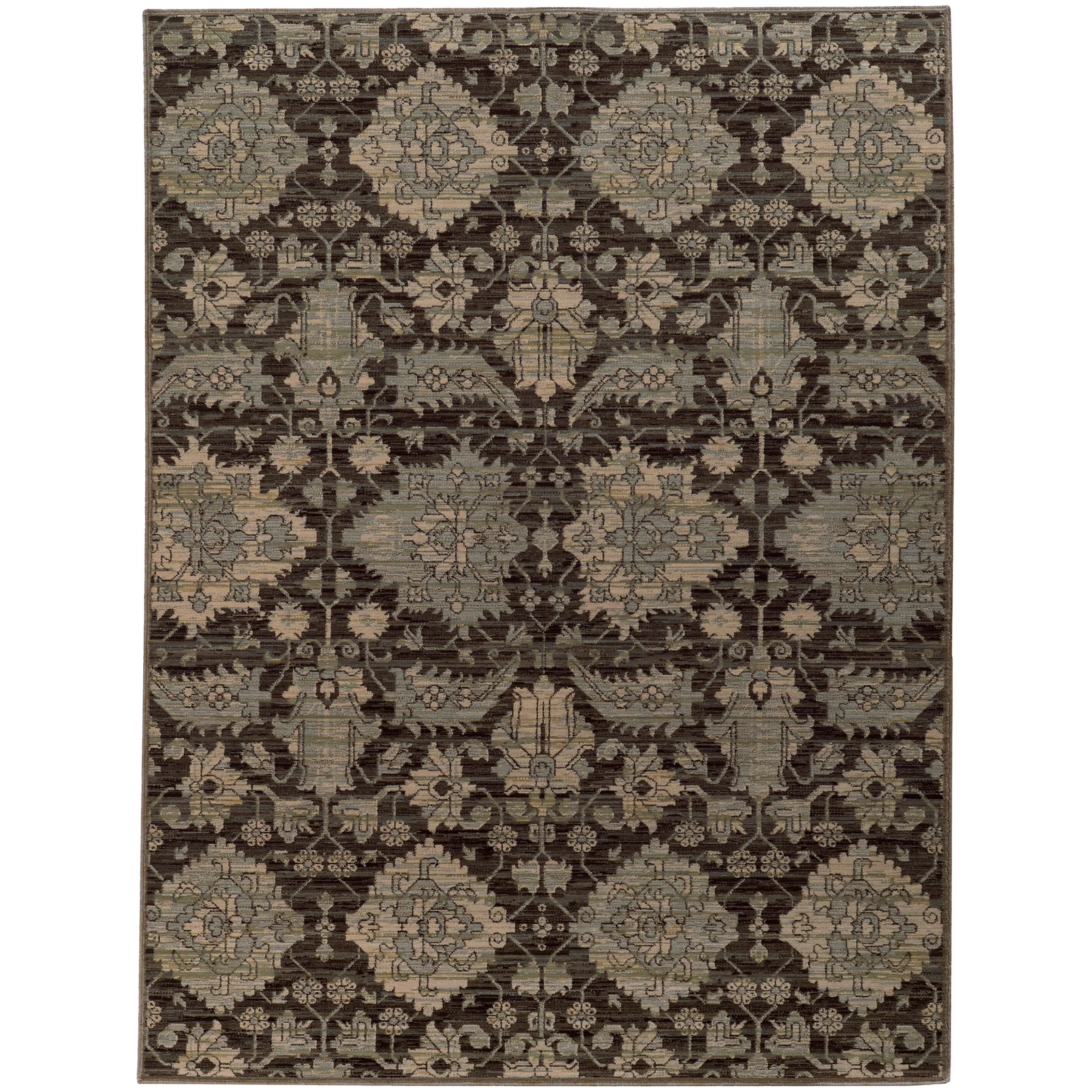 """Oriental Weavers Heritage 3'10"""" X  5' 5"""" Rug - Item Number: H8124N117165ST"""