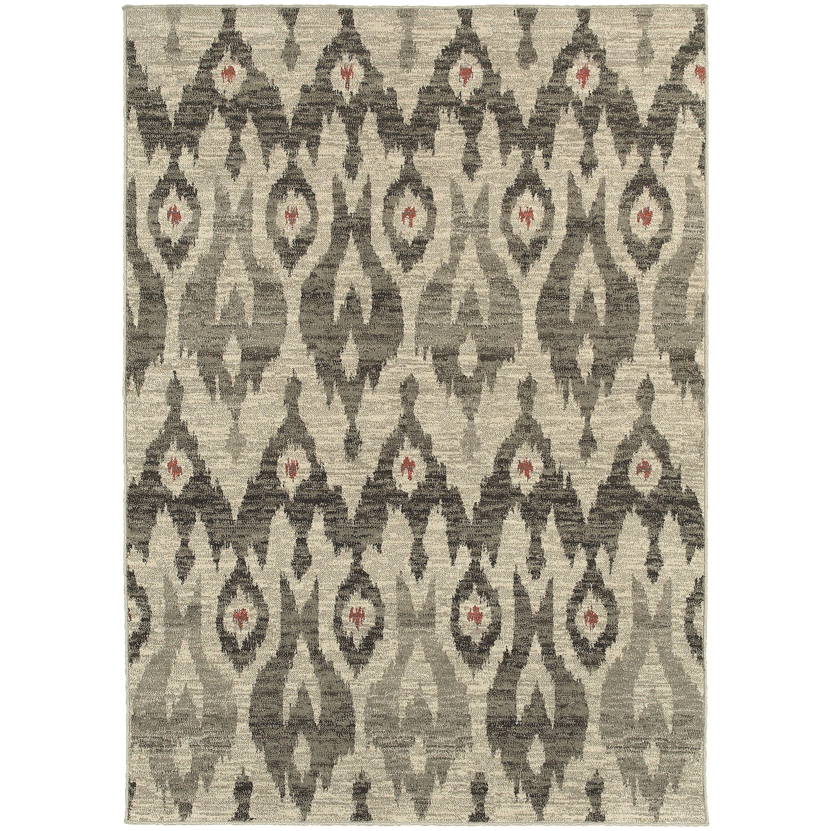 """Oriental Weavers Highlands 2' 3"""" X  7' 6"""" Rug Runner - Item Number: HIG6301E23X76"""