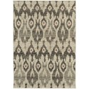 "Oriental Weavers Highlands 5' 3"" X  7' 6"" Rectangle Area Rug - Item Number: HIG6301E53X76"