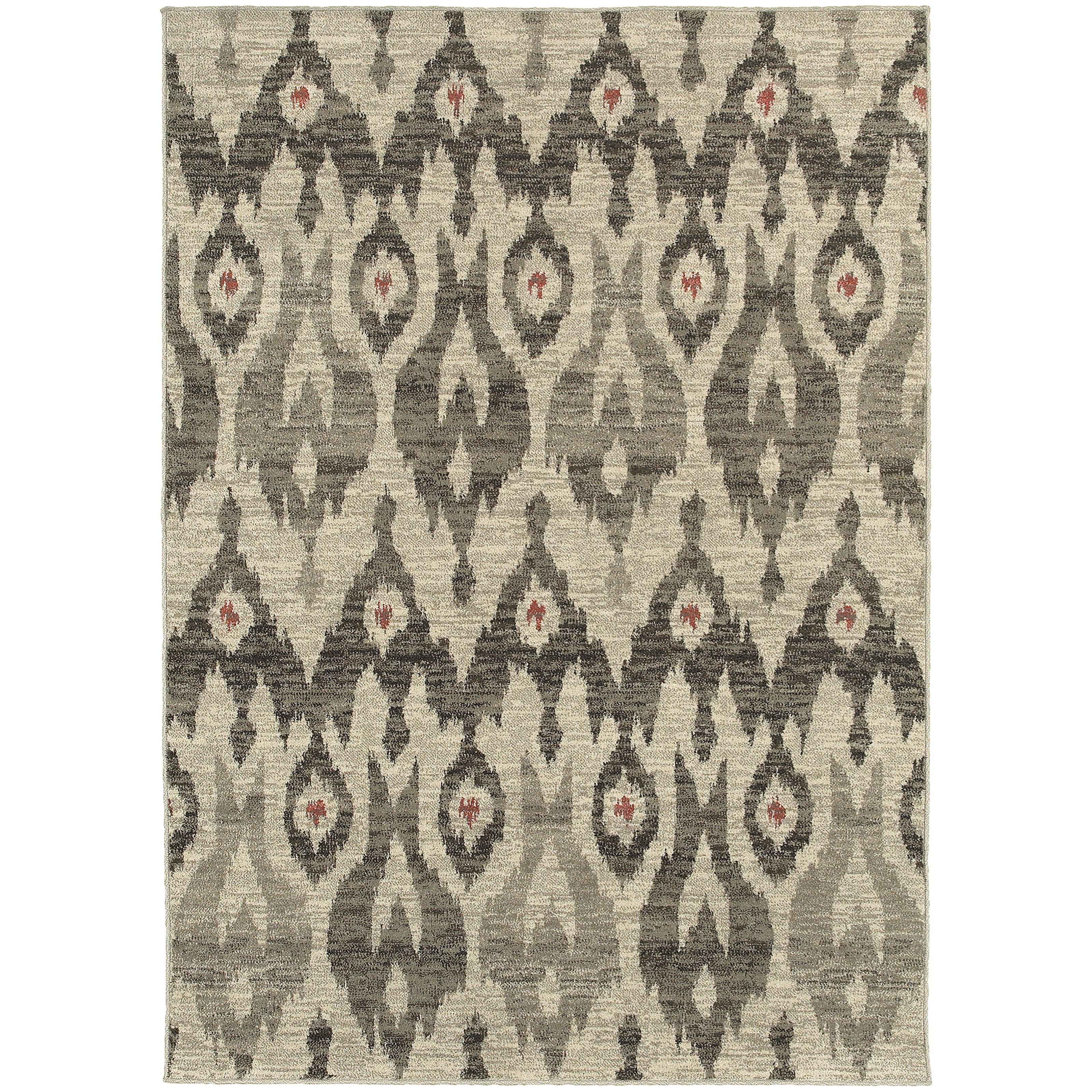"Oriental Weavers Highlands 6' 7"" X  9' 6"" Rectangle Area Rug - Item Number: HIG6301E67X96"