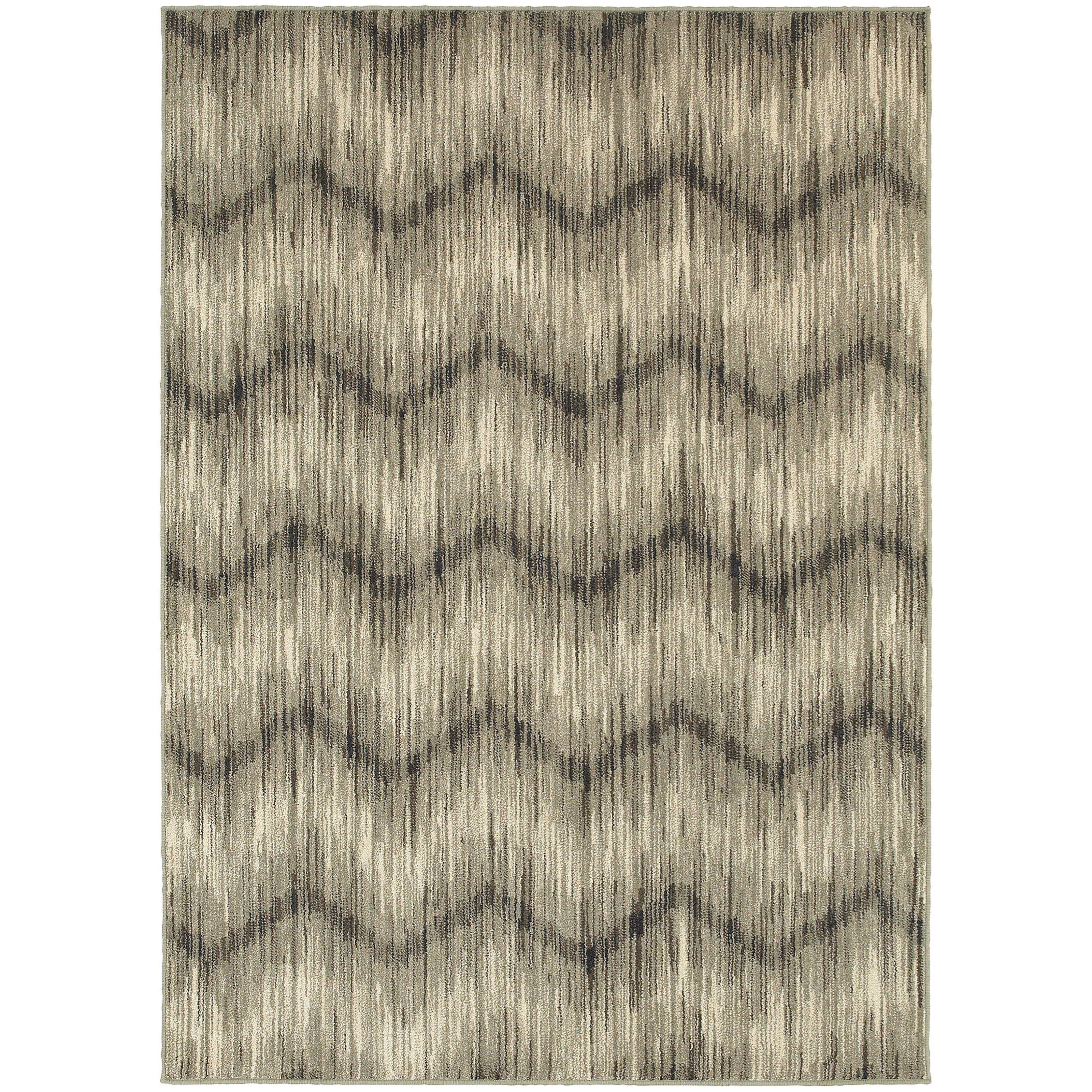 "Oriental Weavers Highlands 6' 7"" X  9' 6"" Rectangle Area Rug - Item Number: HIG6608A67X96"