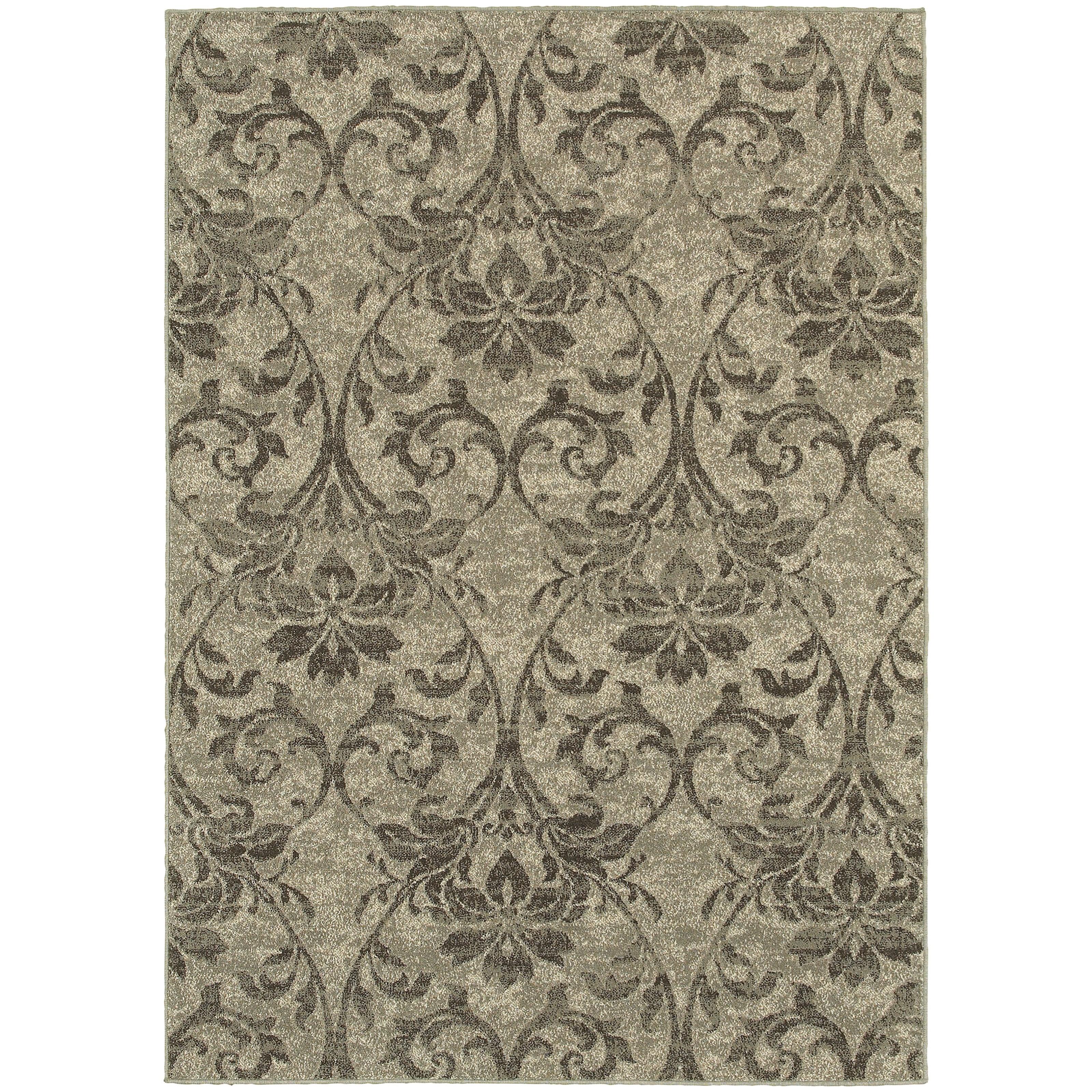 """Oriental Weavers Highlands 1'10"""" X  3' 0"""" Rectangle Area Rug - Item Number: HIG6609C110X3"""