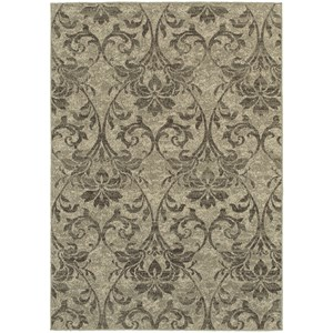 "Oriental Weavers Highlands 6' 7"" X  9' 6"" Rectangle Area Rug"