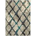 "Oriental Weavers Highlands 5' 3"" X  7' 6"" Rectangle Area Rug - Item Number: HIG6613A53X76"