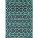 "Oriental Weavers Highlands 6' 7"" X  9' 6"" Rectangle Area Rug - Item Number: HIG6627B67X96"