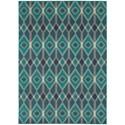 "Oriental Weavers Highlands 7'10"" X 10'10"" Rectangle Area Rug - Item Number: HIG6627B710X1010"