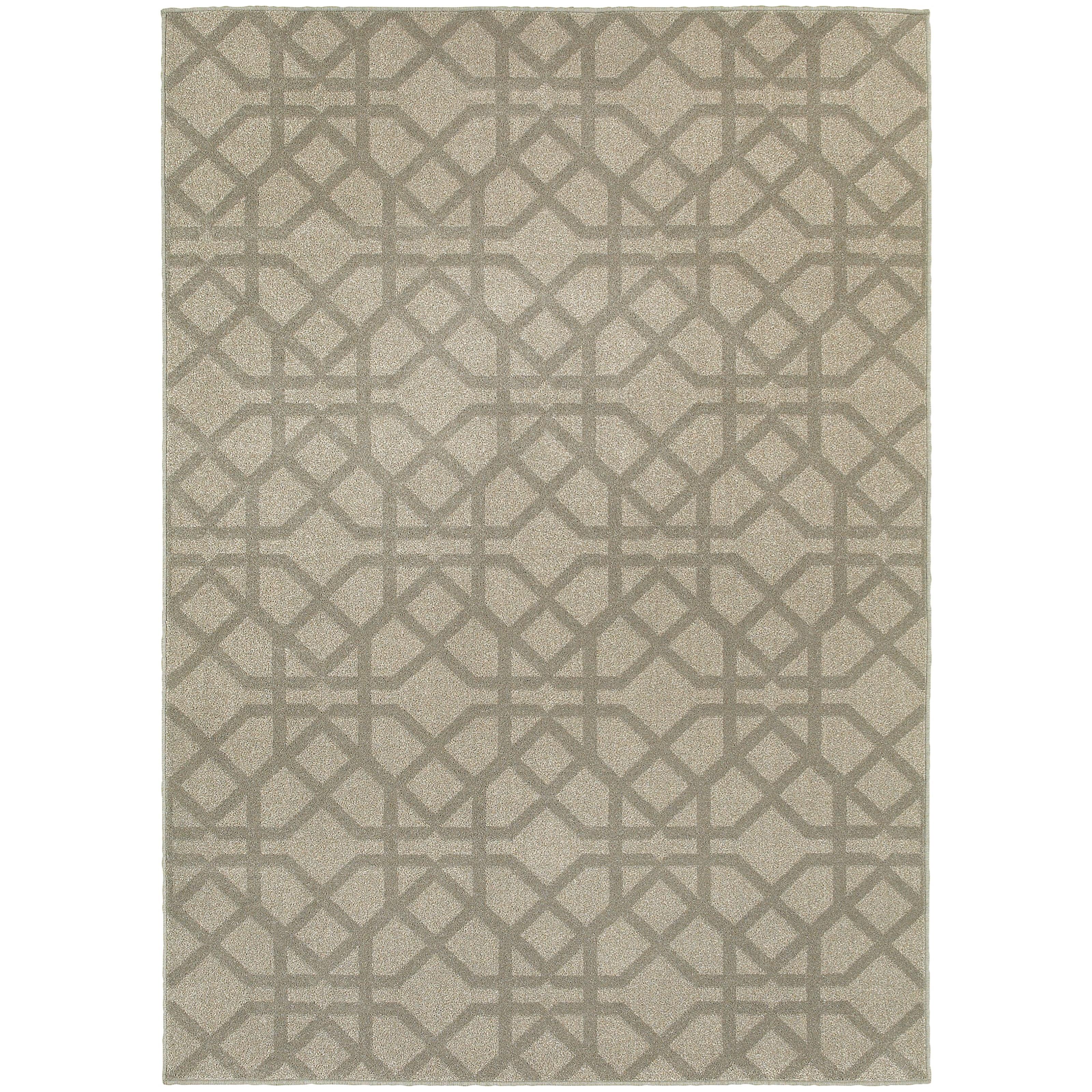 "Oriental Weavers Highlands 1'10"" X  3' 0"" Rectangle Area Rug - Item Number: HIG6638E110X3"