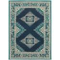 "Oriental Weavers Highlands 7'10"" X 10'10"" Rectangle Area Rug - Item Number: HIG6658A710X1010"