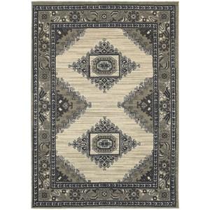 "Oriental Weavers Highlands 3'10"" X  5' 5"" Rectangle Area Rug"