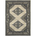 "Oriental Weavers Highlands 6' 7"" X  9' 6"" Rectangle Area Rug - Item Number: HIG6658B67X96"