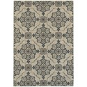 "Oriental Weavers Highlands 9'10"" X 12'10"" Rectangle Area Rug - Item Number: HIG6677A910X1210"