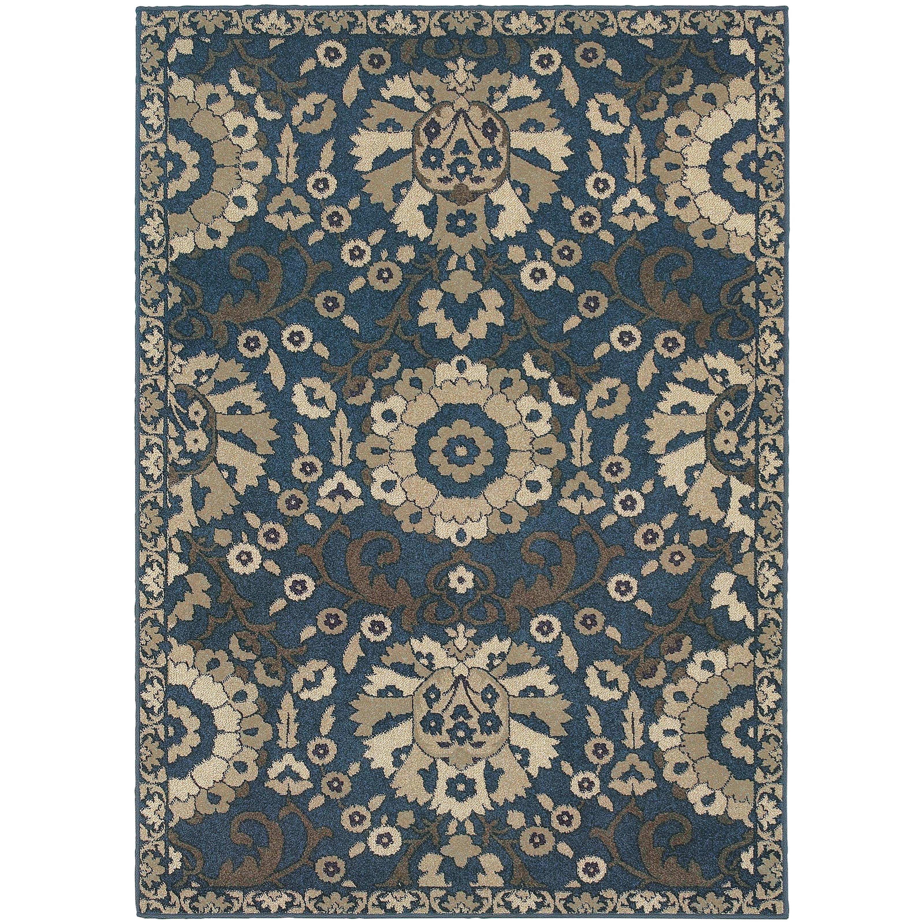"Oriental Weavers Highlands 3'10"" X  5' 5"" Rectangle Area Rug - Item Number: HIG6682A310X55"