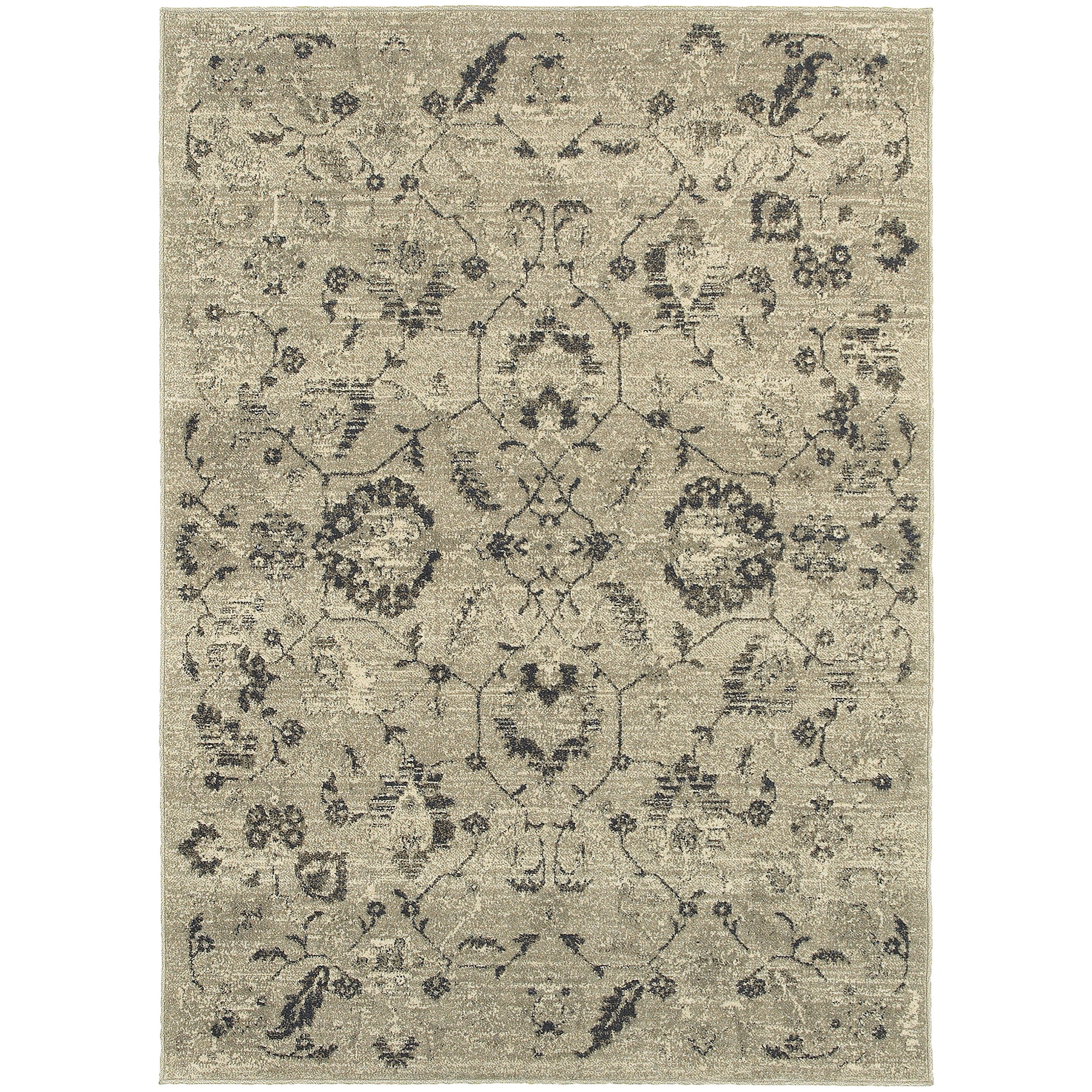 "Oriental Weavers Highlands 7'10"" X 10'10"" Rectangle Area Rug - Item Number: HIG6684D710X1010"