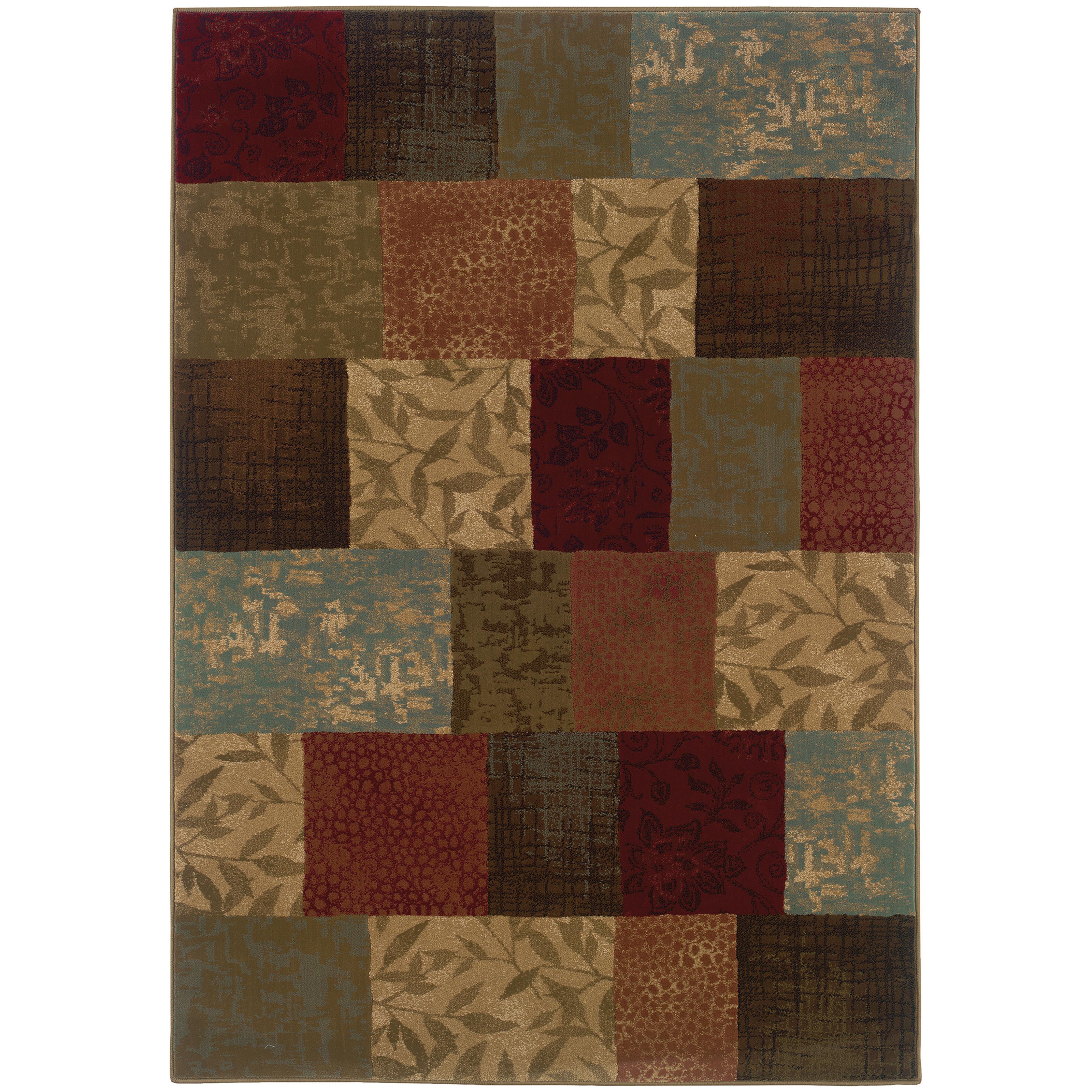 "Oriental Weavers Hudson 7' 8"" X 10'10"" Rug - Item Number: H030C1235330ST"