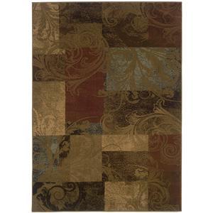 """Oriental Weavers Hudson 5' 3"""" X  7' 6"""" Rug"""