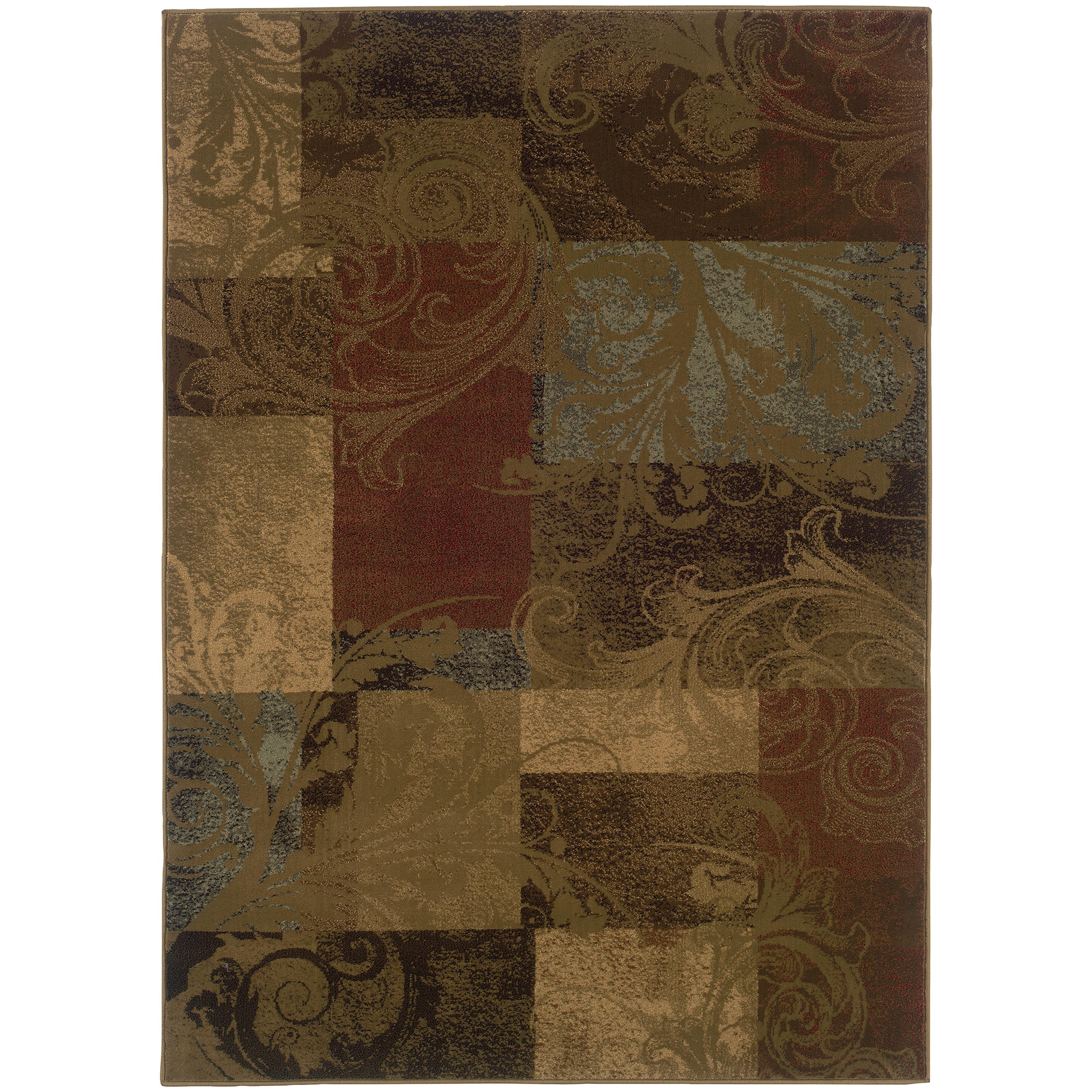 "Oriental Weavers Hudson 7' 8"" X 10'10"" Rug - Item Number: H036G1235330ST"
