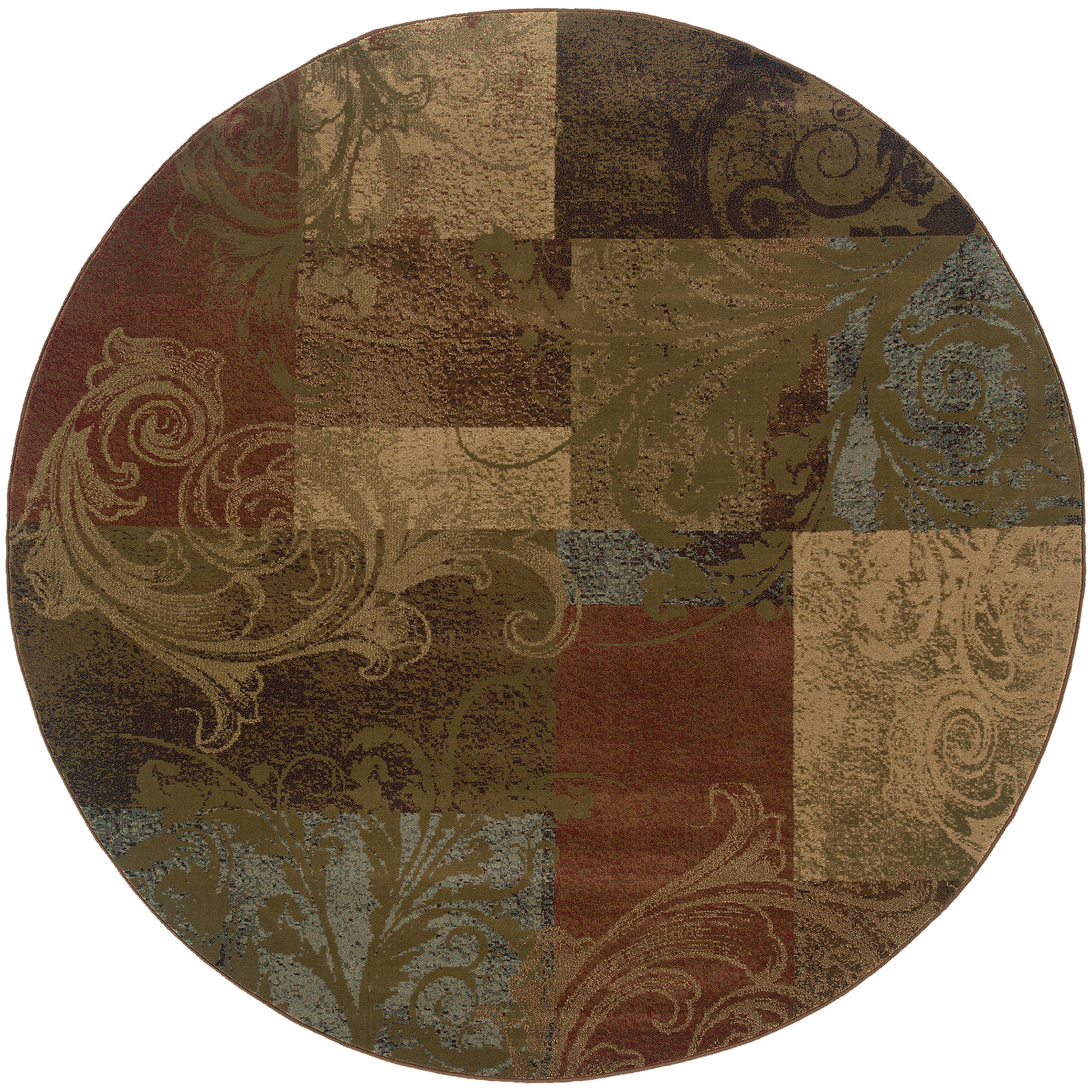 """Oriental Weavers Hudson 7' 8"""" Rug - Item Number: H036G1235RDST"""