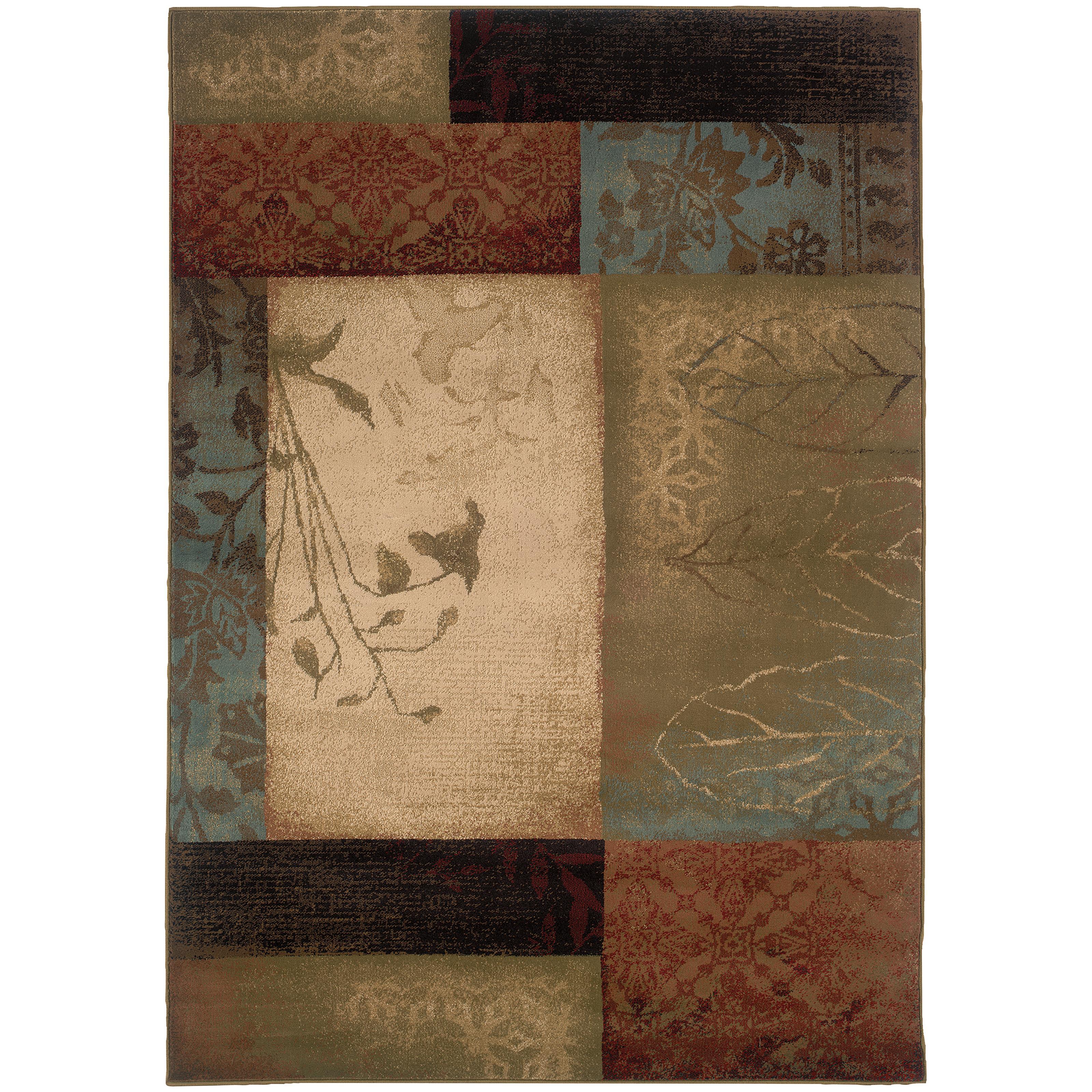 "Oriental Weavers Hudson 3'10"" X  5' 5"" Rug - Item Number: H040A1117165ST"