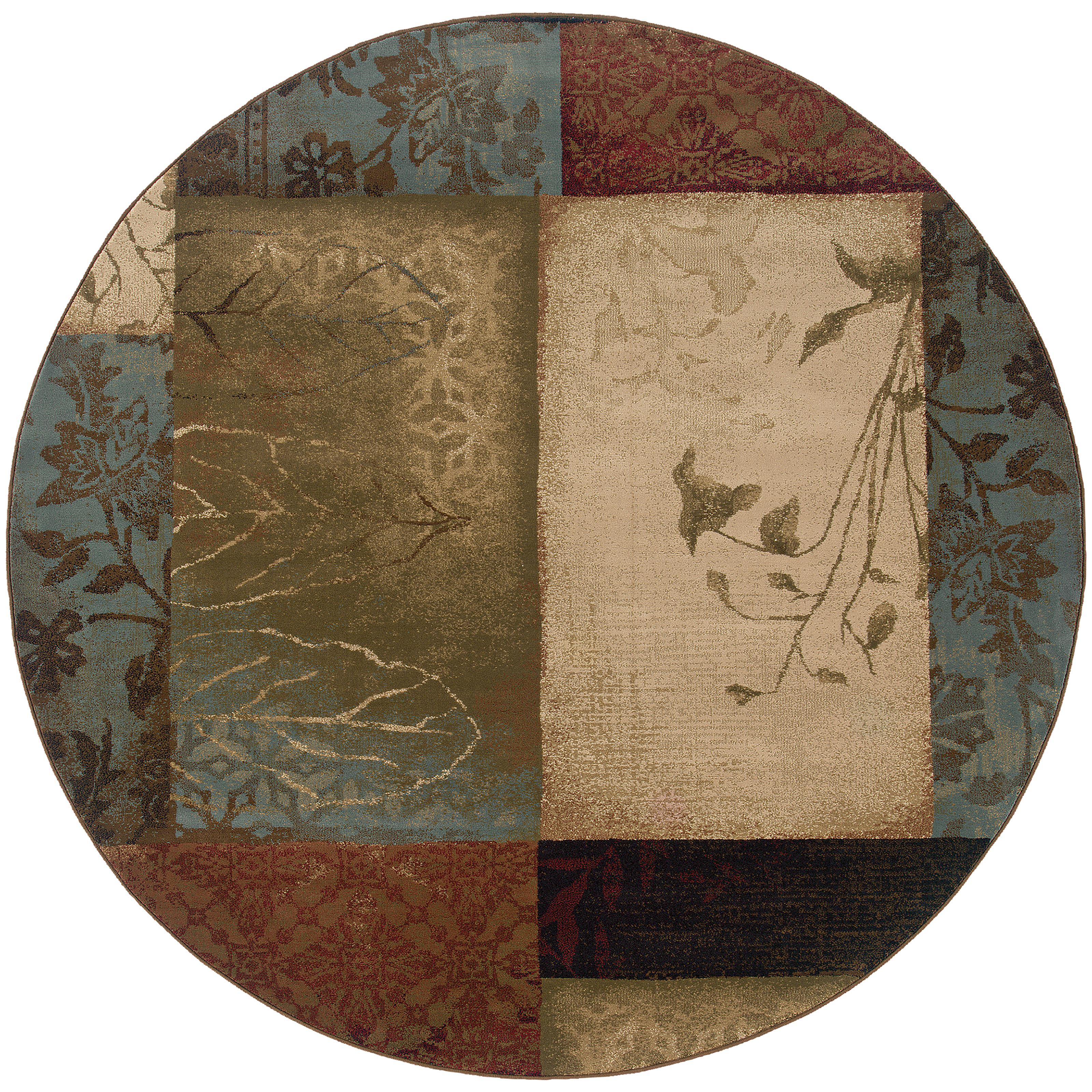 """Oriental Weavers Hudson 7' 8"""" Rug - Item Number: H040A1235RDST"""