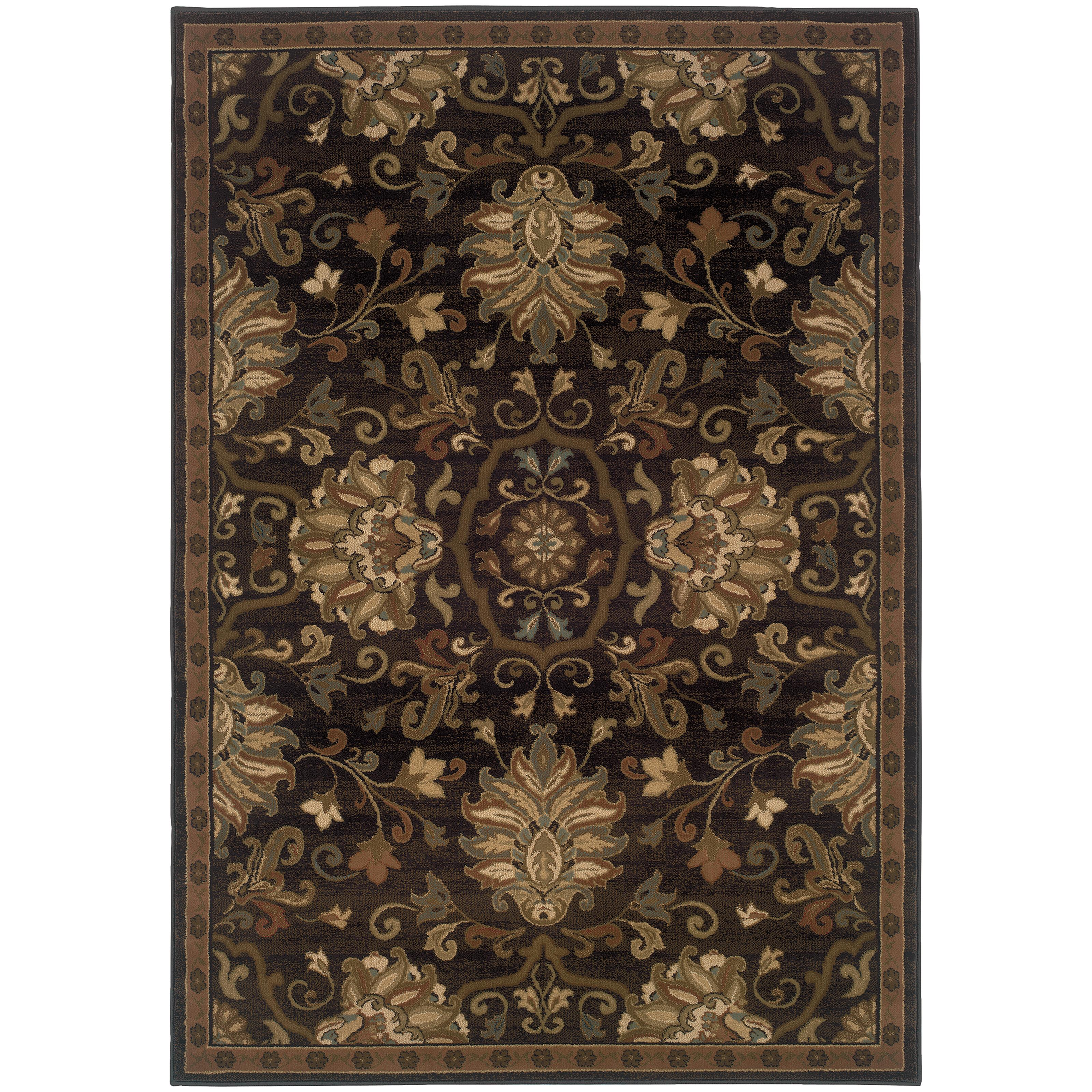 "Oriental Weavers Hudson 3'10"" X  5' 5"" Rug - Item Number: H042G1117165ST"