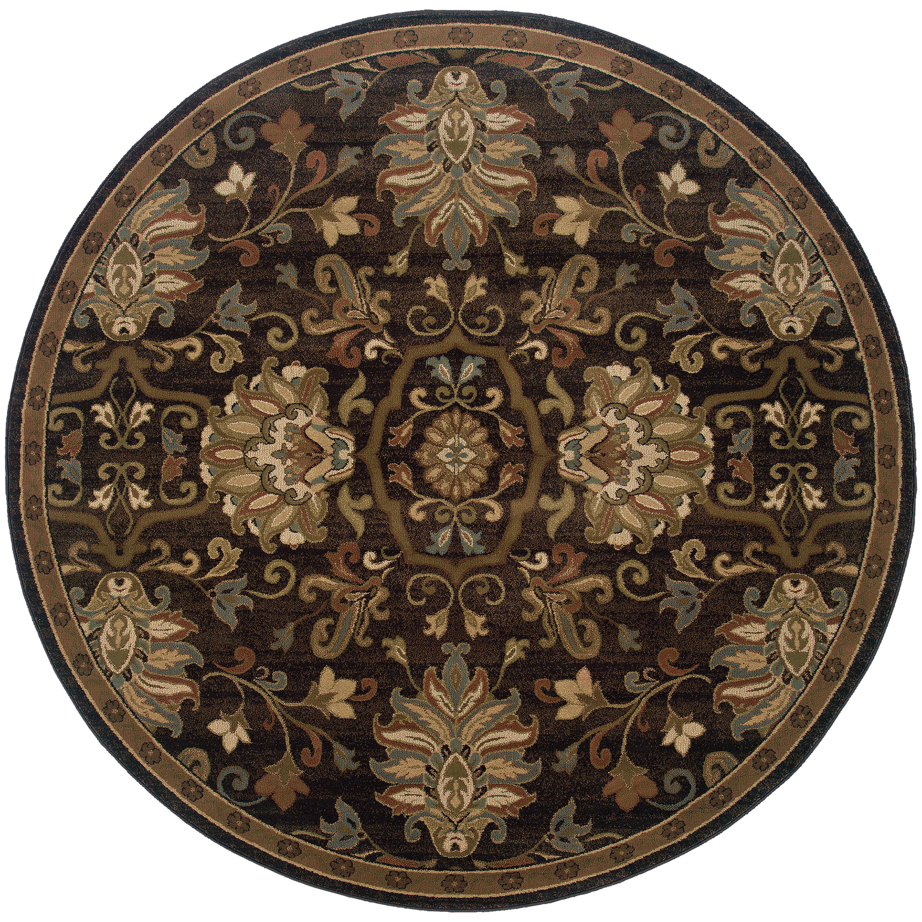 """Oriental Weavers Hudson 7' 8"""" Rug - Item Number: H042G1235RDST"""