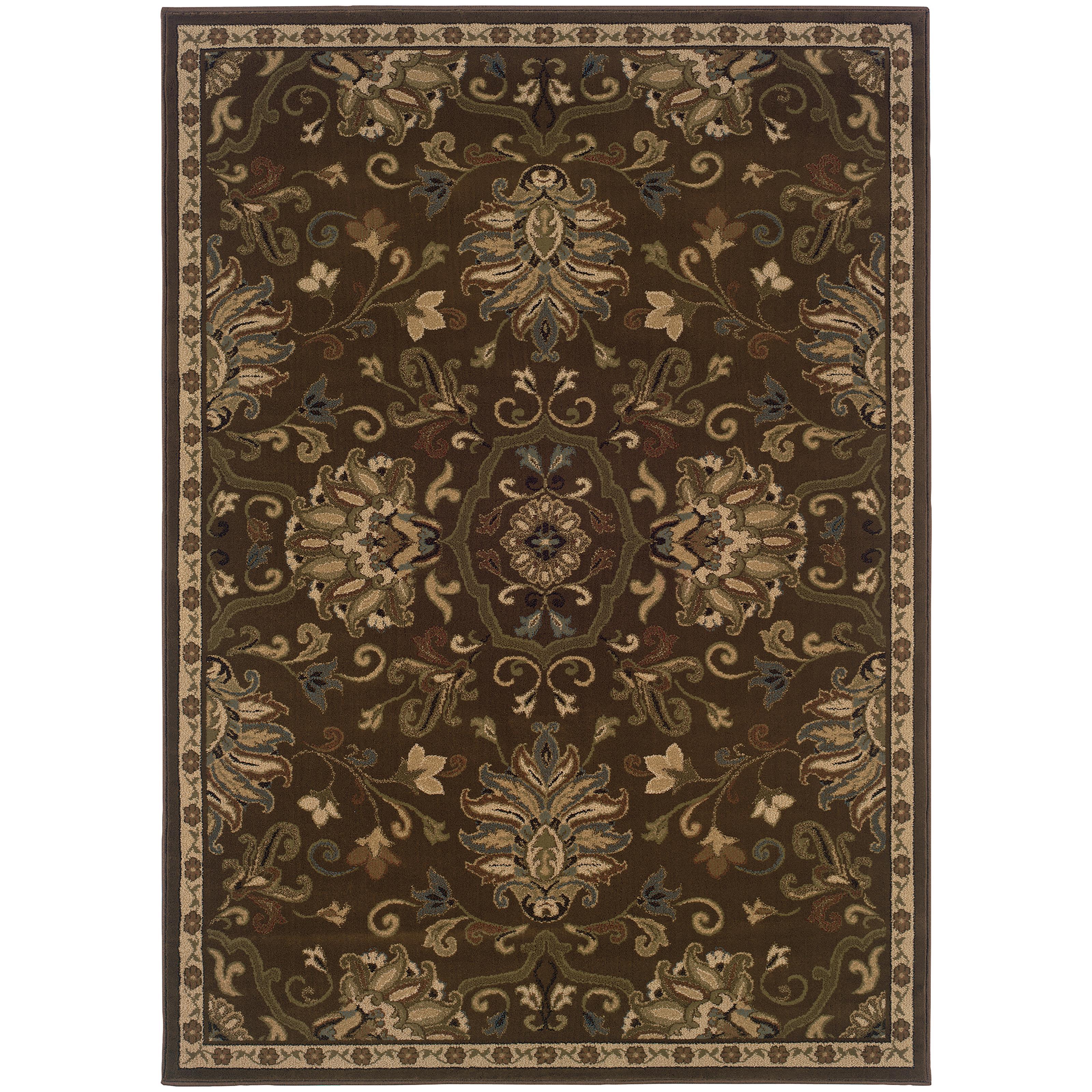 "Oriental Weavers Hudson 3'10"" X  5' 5"" Rug - Item Number: H042H1117165ST"