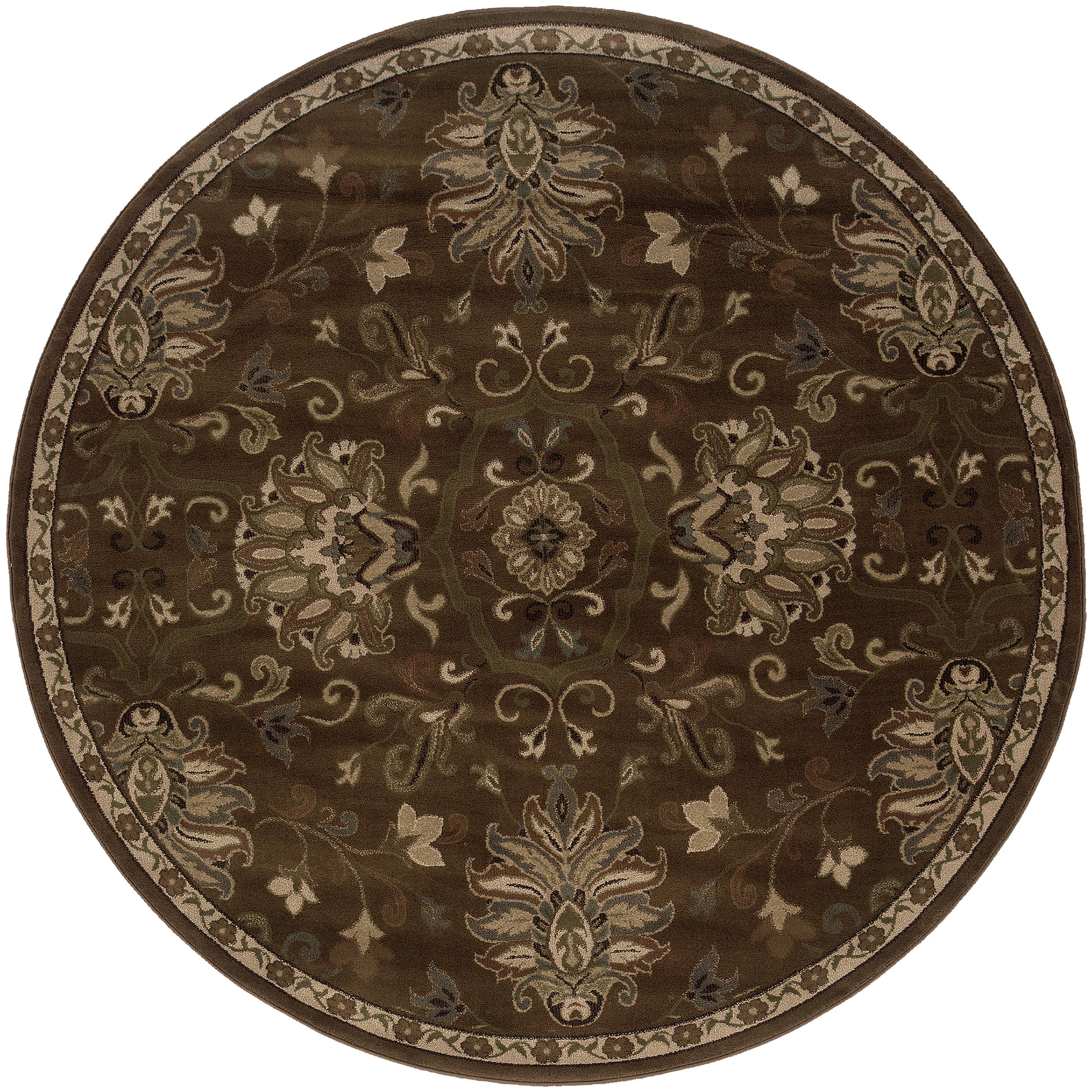 """Oriental Weavers Hudson 7' 8"""" Rug - Item Number: H042H1235RDST"""
