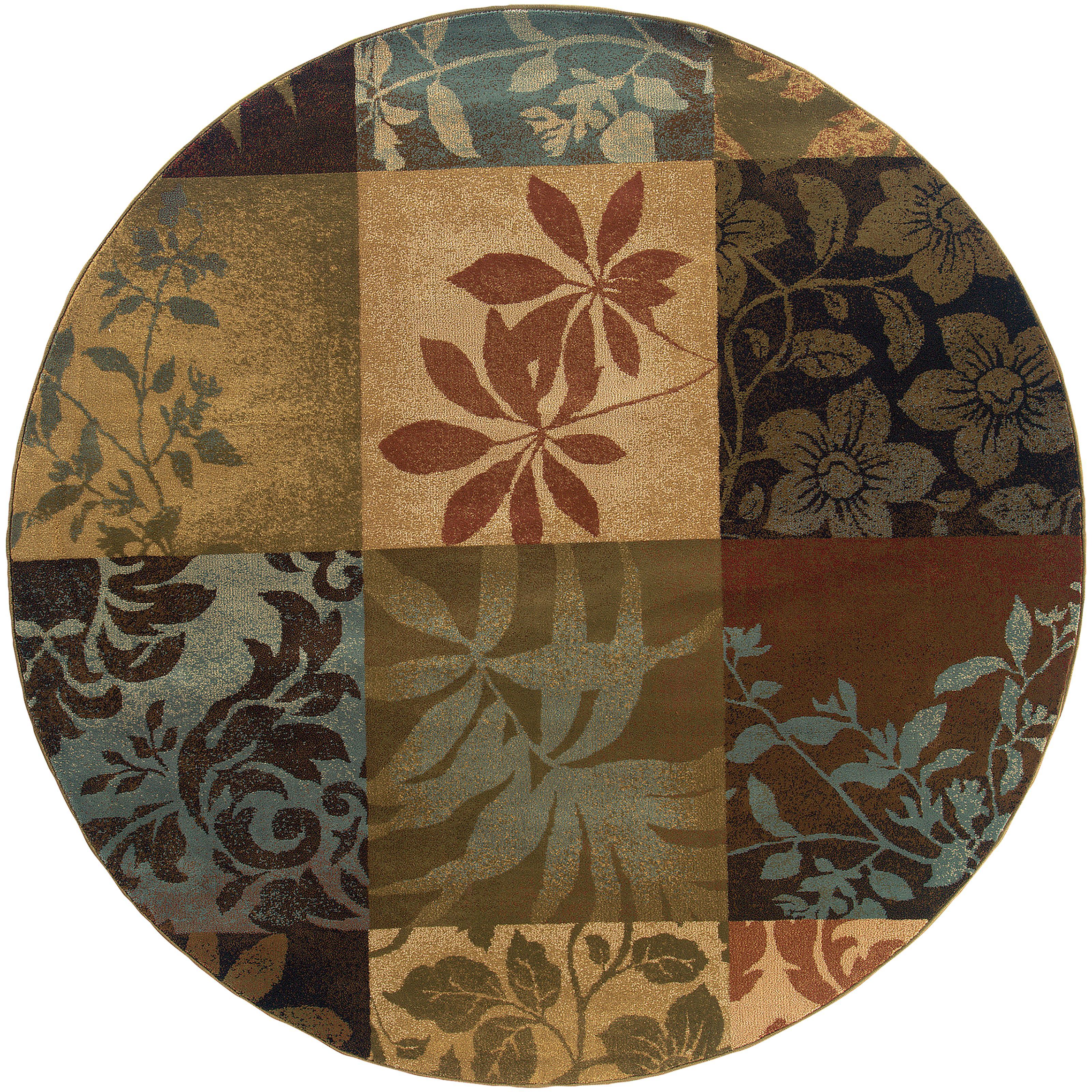 "Oriental Weavers Hudson 7' 8"" Rug - Item Number: H058B1235RDST"