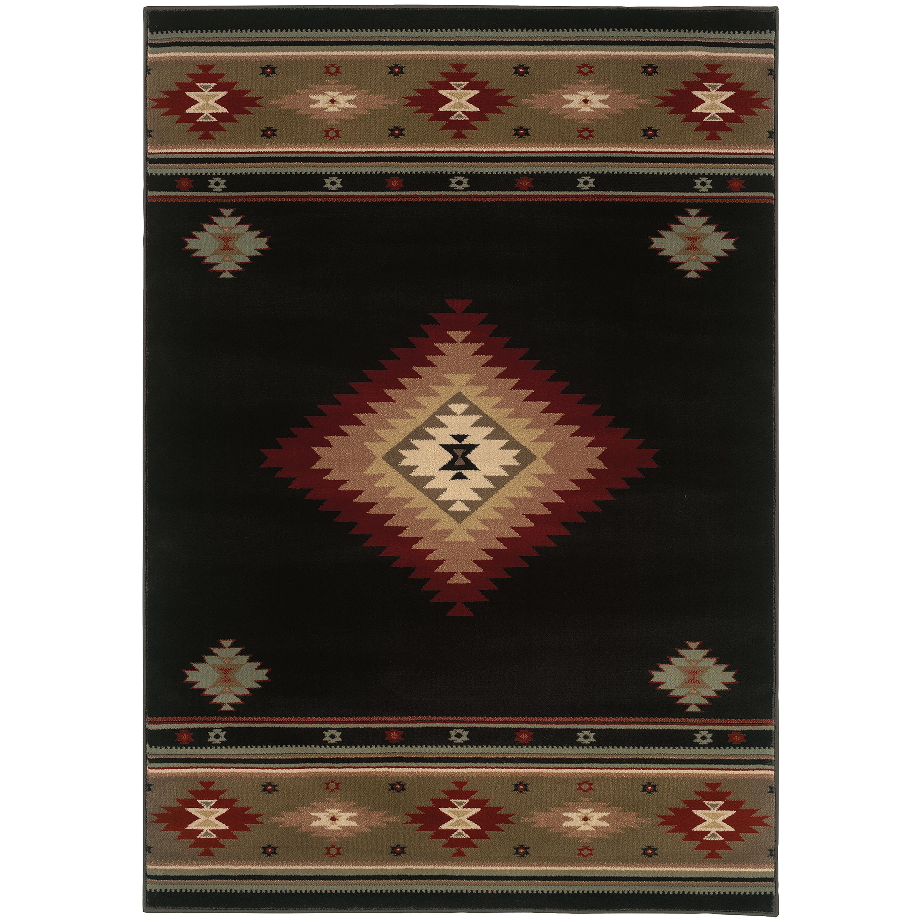 "Oriental Weavers Hudson 7' 8"" X 10'10"" Rug - Item Number: H087G1235330ST"