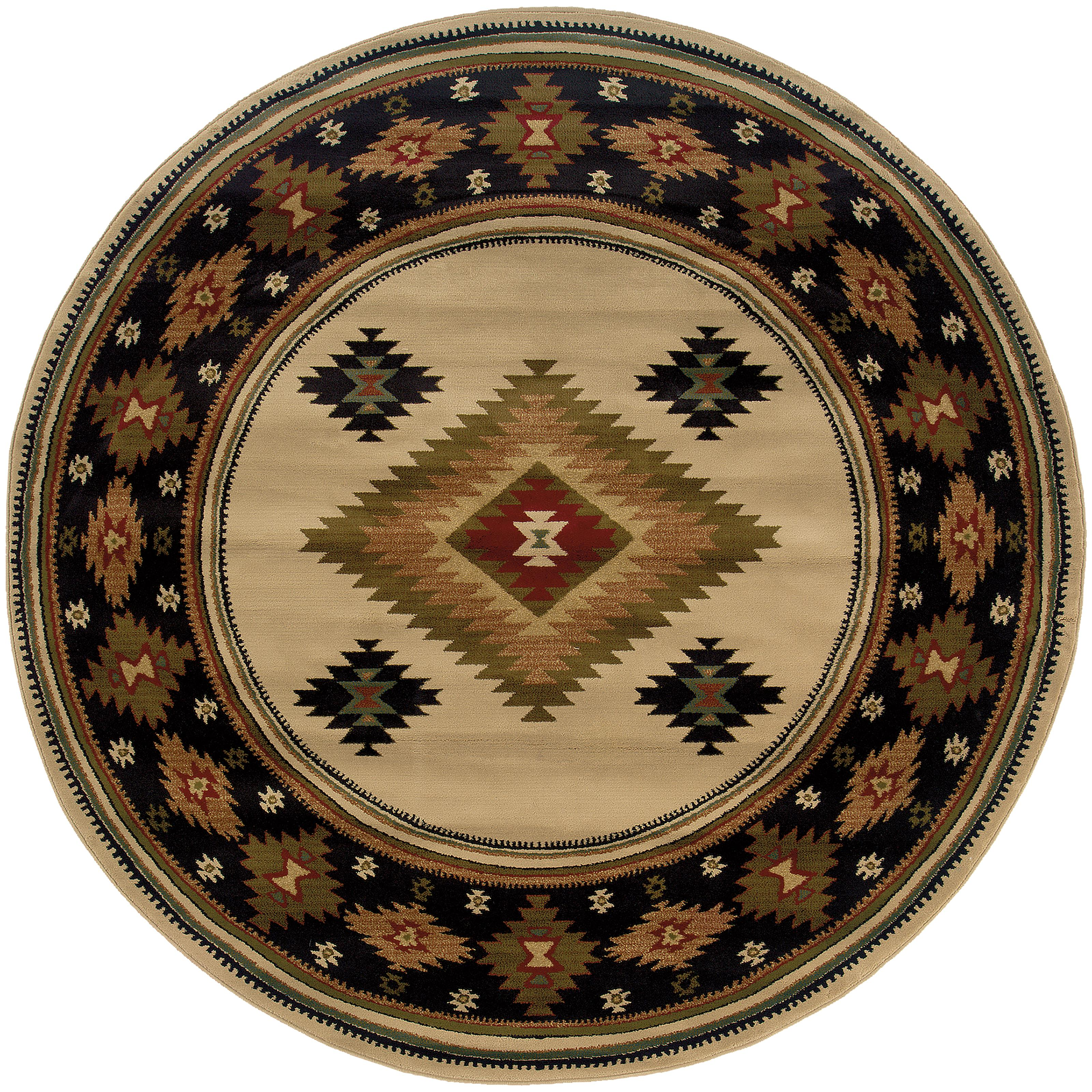 """Oriental Weavers Hudson 7' 8"""" Rug - Item Number: H087I1235RDST"""