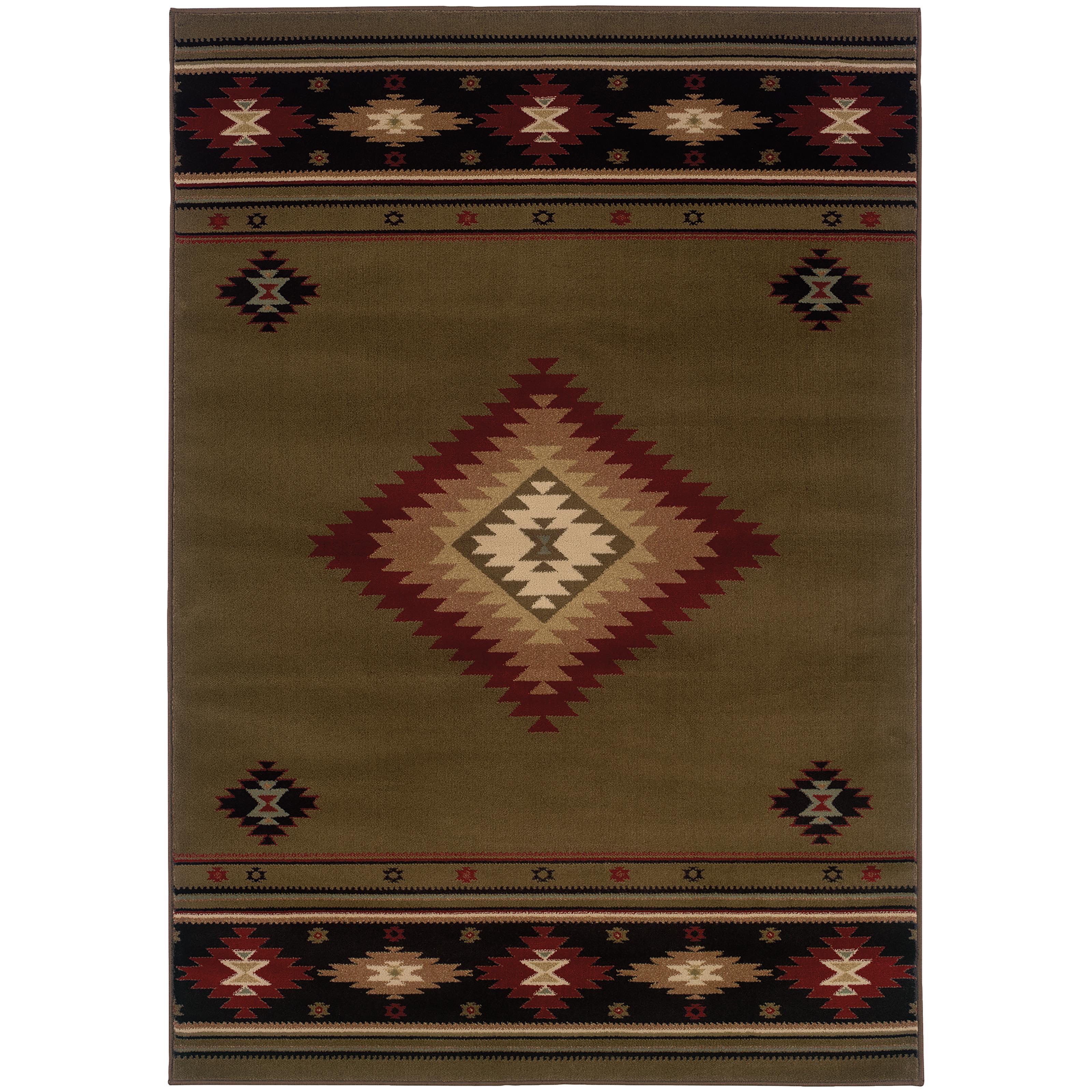 "Oriental Weavers Hudson 5' 3"" X  7' 6"" Rug - Item Number: H087J1160230ST"