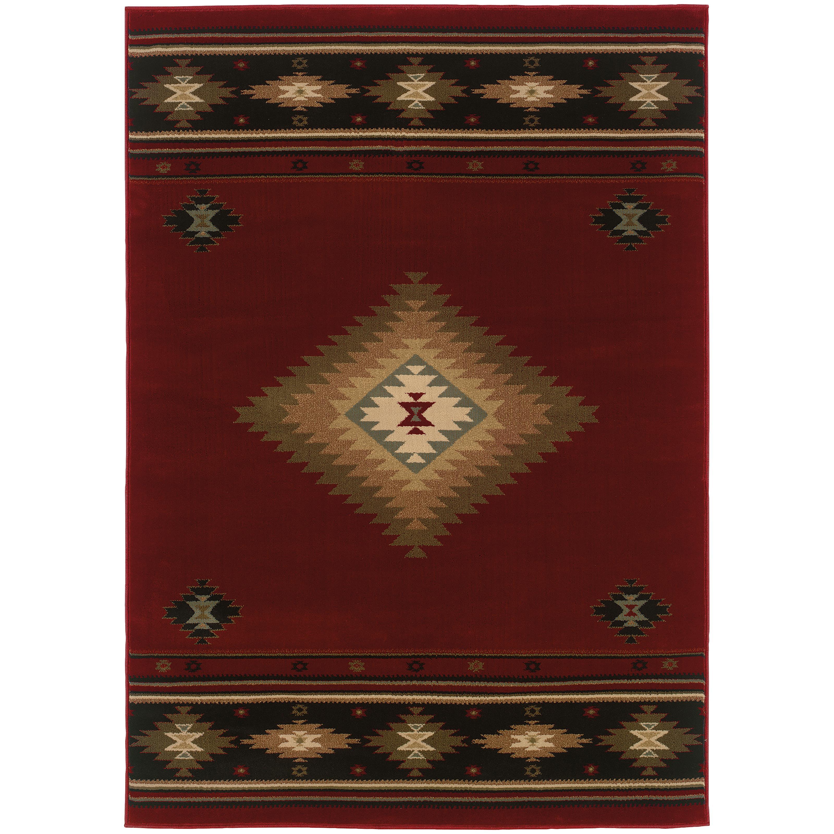 "Oriental Weavers Hudson 7' 8"" X 10'10"" Rug - Item Number: H087K1235330ST"