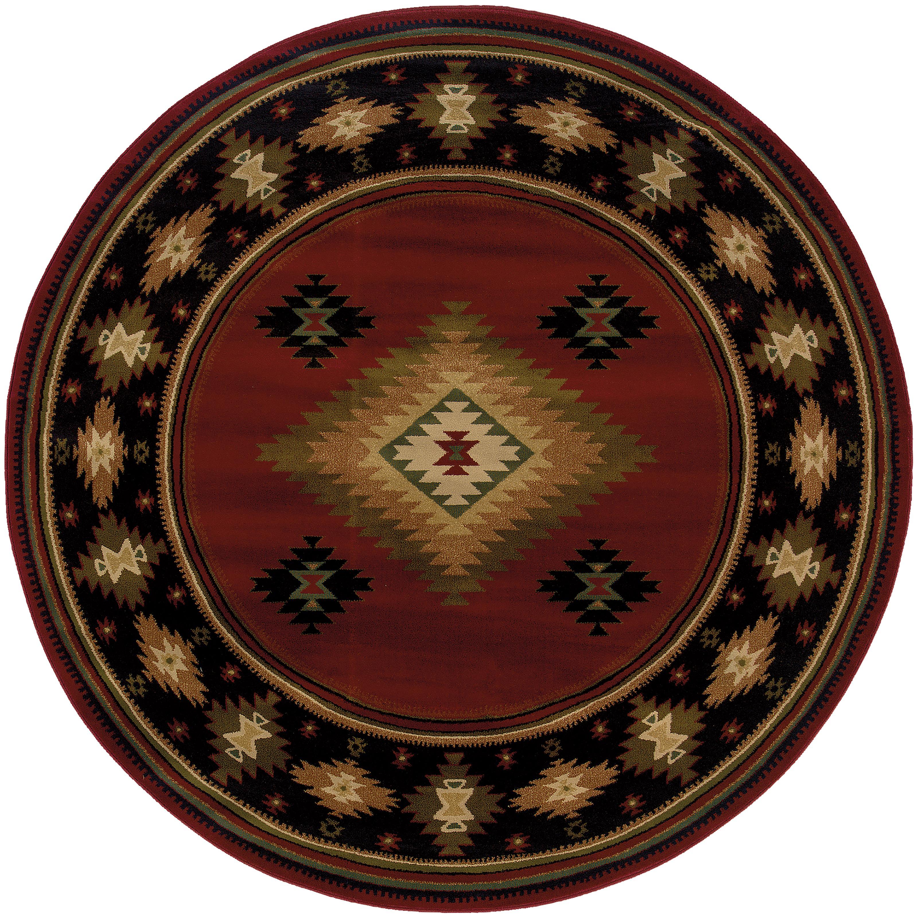 """Oriental Weavers Hudson 7' 8"""" Rug - Item Number: H087K1235RDST"""