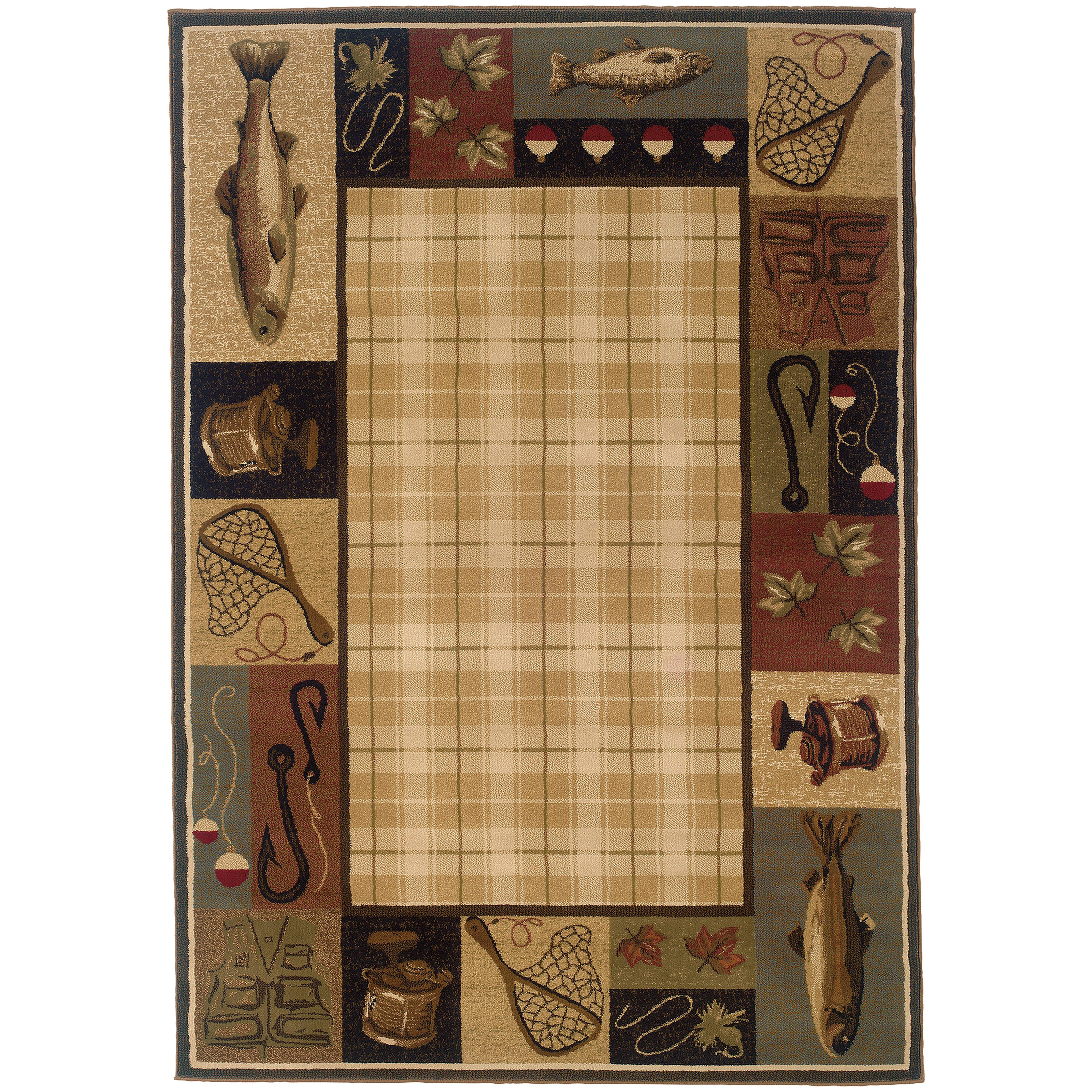 "Oriental Weavers Hudson 3'10"" X  5' 5"" Rug - Item Number: H1065B117165ST"