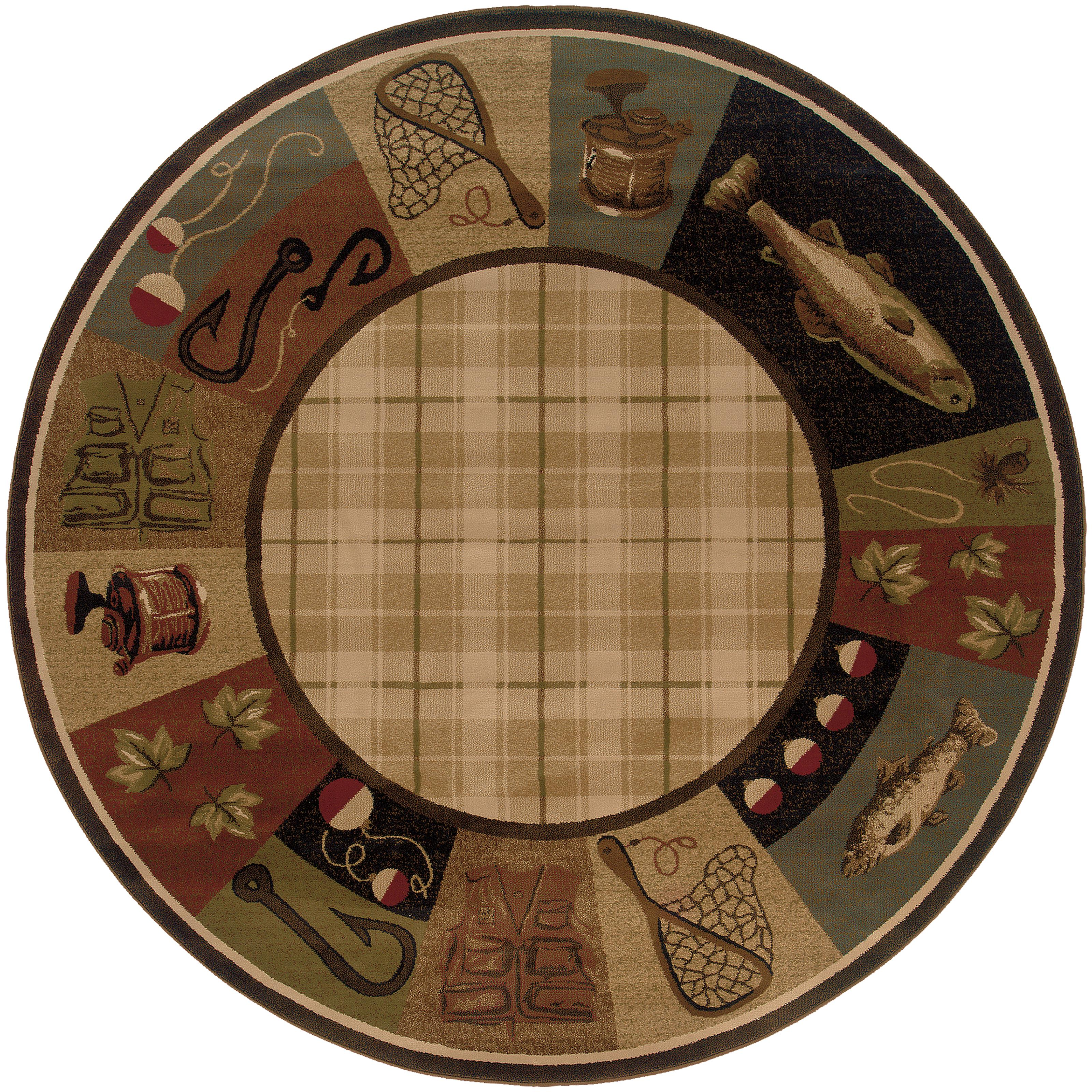 "Oriental Weavers Hudson 7' 8"" Rug - Item Number: H1065B235RDST"