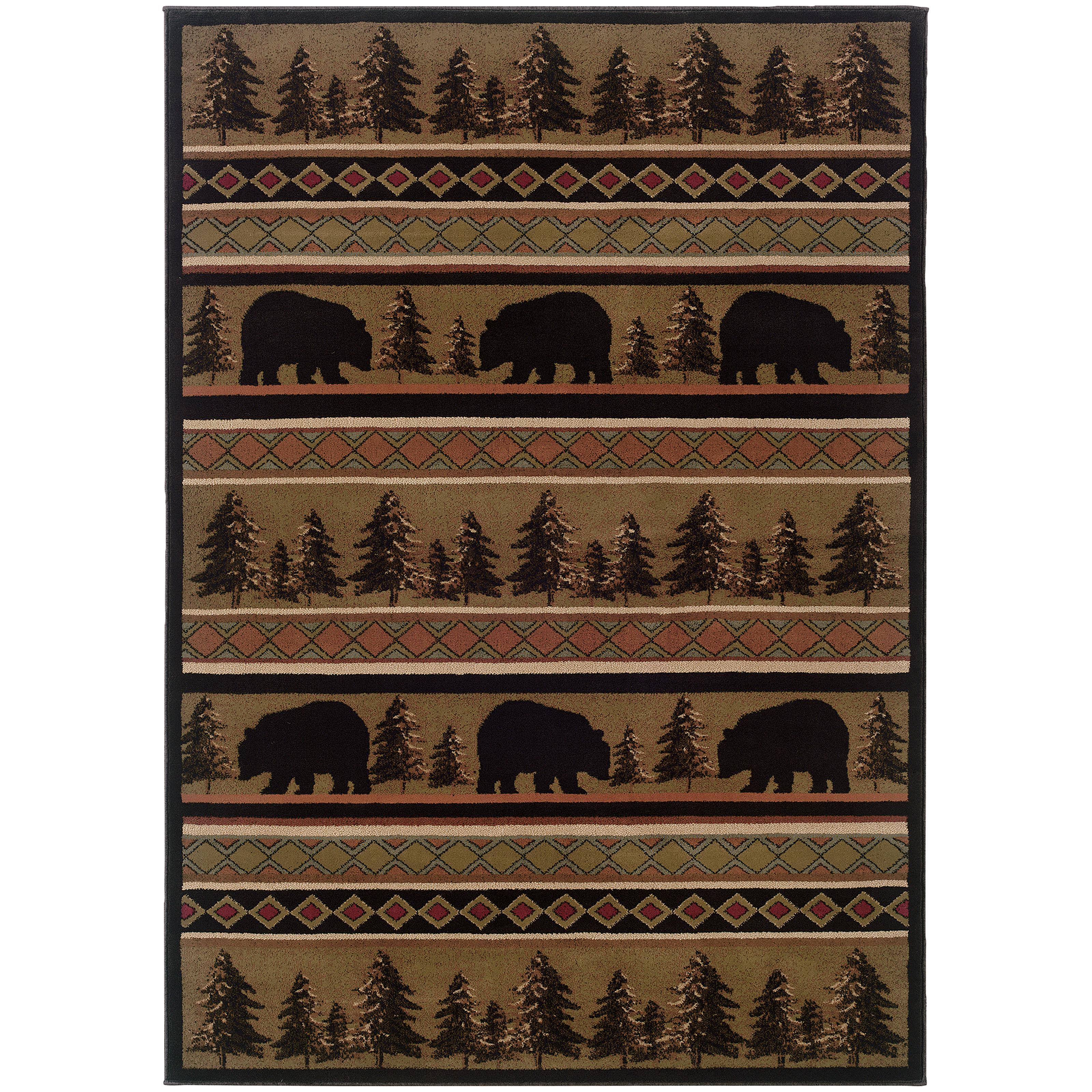 "Oriental Weavers Hudson 5' 3"" X  7' 6"" Rug - Item Number: H1066A160230ST"