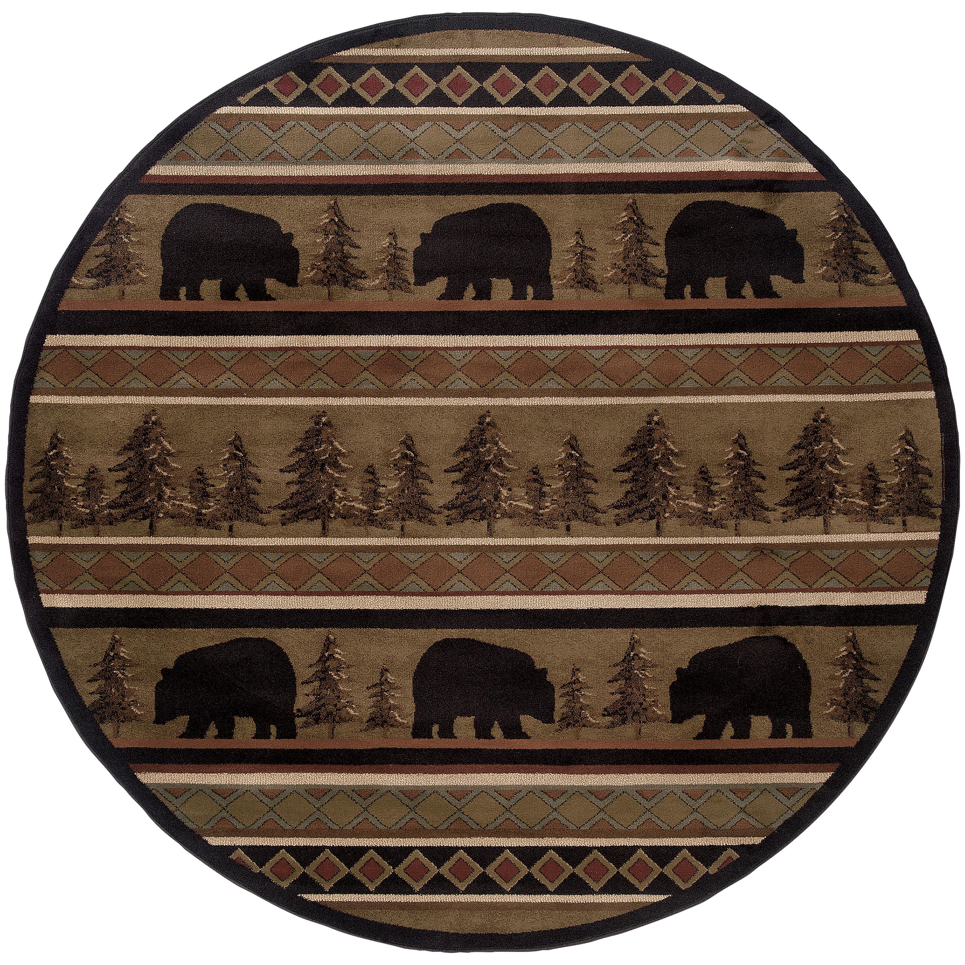 """Oriental Weavers Hudson 7' 8"""" Rug - Item Number: H1066A235RDST"""