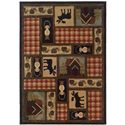 "Oriental Weavers Hudson 1'10"" X  7' 6"" Rug - Item Number: H1067A058230ST"