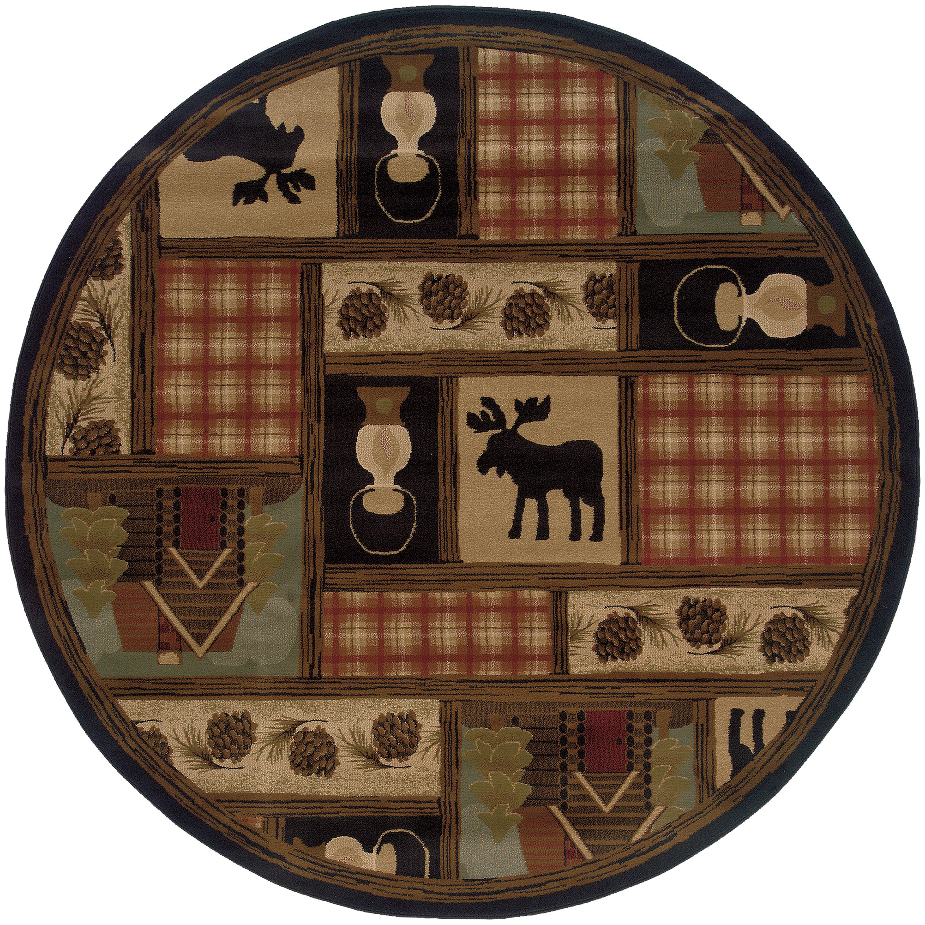 """Oriental Weavers Hudson 7' 8"""" Rug - Item Number: H1067A235RDST"""