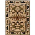 "Oriental Weavers Hudson 5' 3"" X  7' 6"" Rug - Item Number: H1072A160230ST"