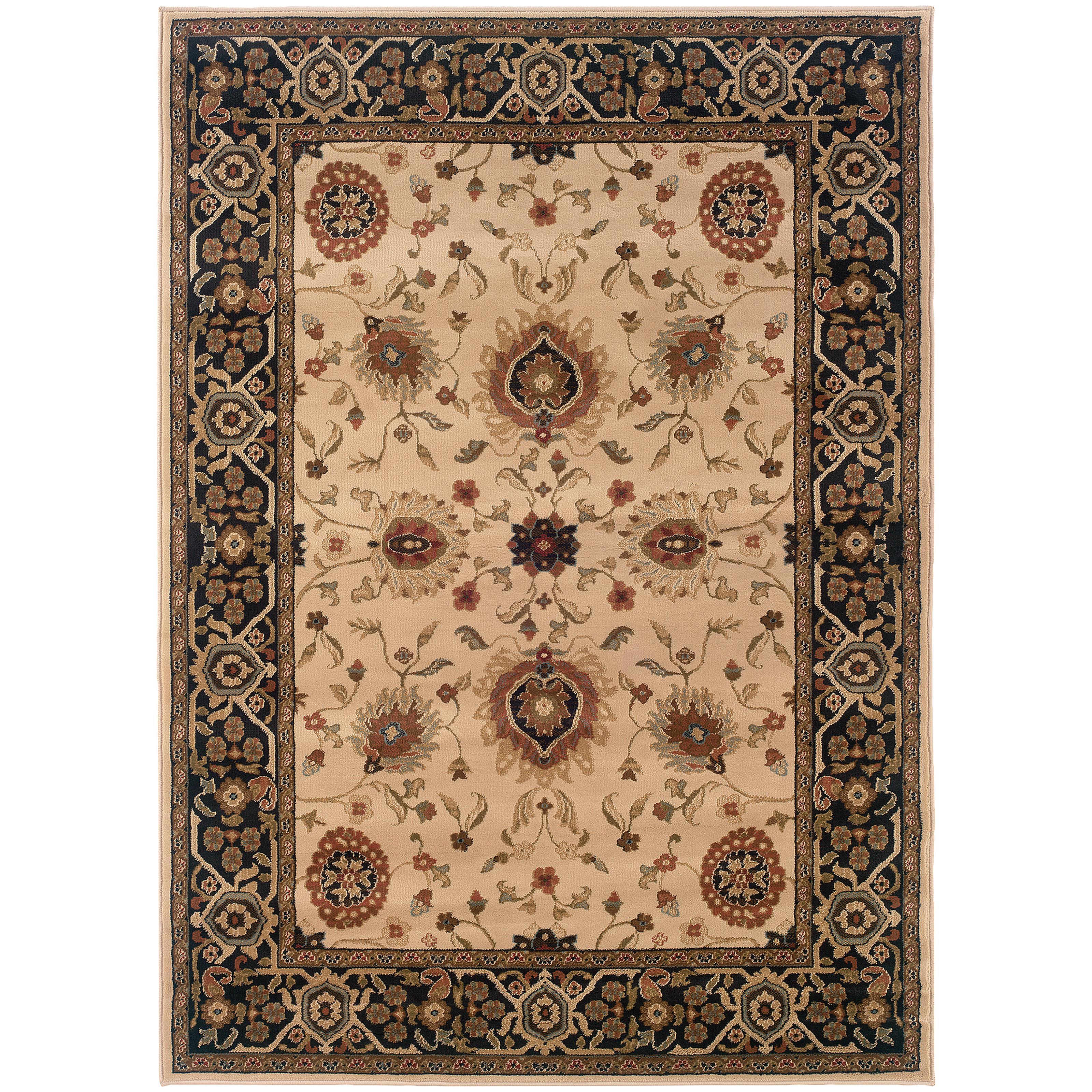 "Oriental Weavers Hudson 3'10"" X  5' 5"" Rug - Item Number: H1338C117165ST"