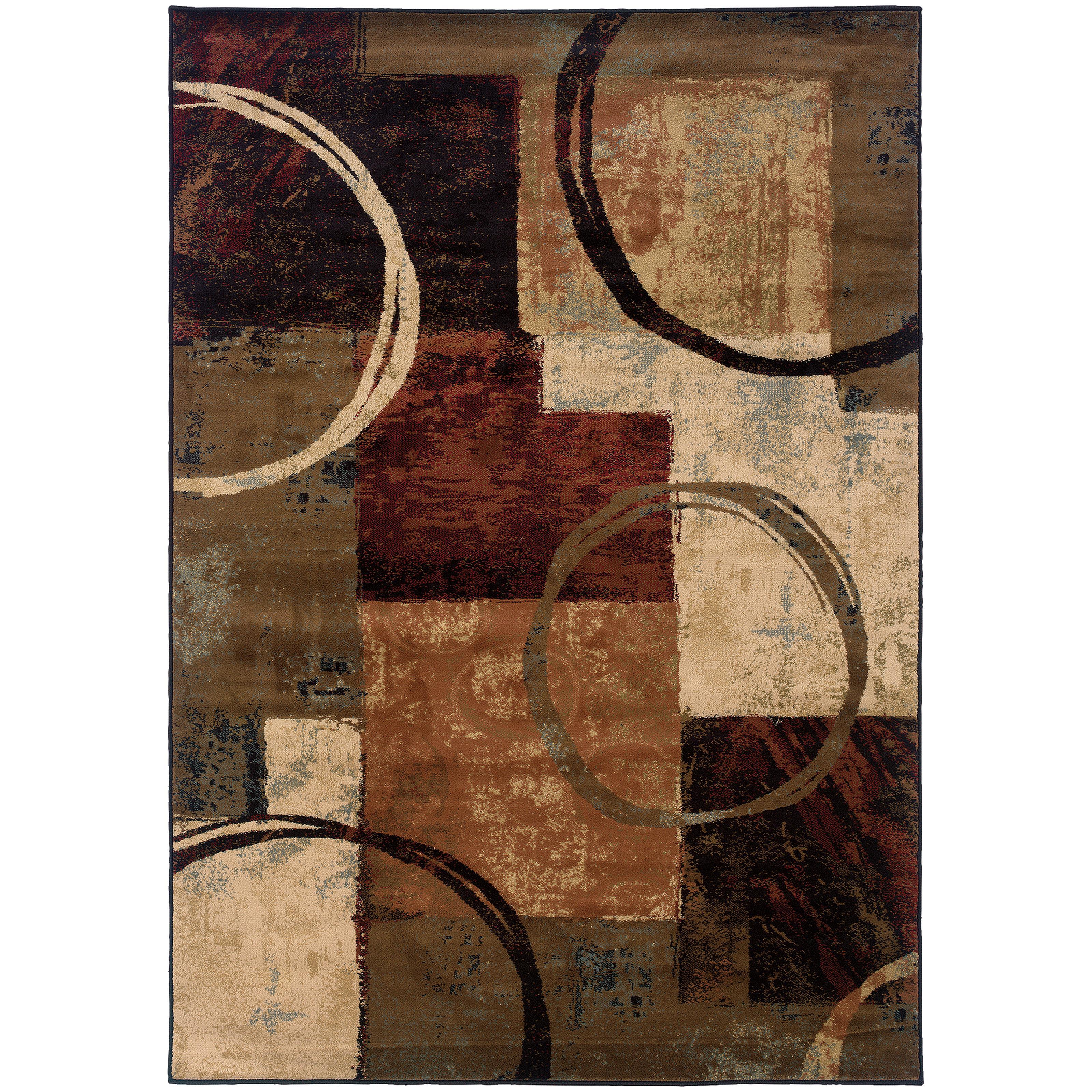 "Oriental Weavers Hudson 3'10"" X  5' 5"" Rug - Item Number: H2544B117165ST"