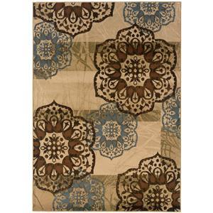 """Oriental Weavers Hudson 3'10"""" X  5' 5"""" Rug"""