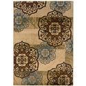 "Oriental Weavers Hudson 3'10"" X  5' 5"" Rug - Item Number: H2797C117165ST"