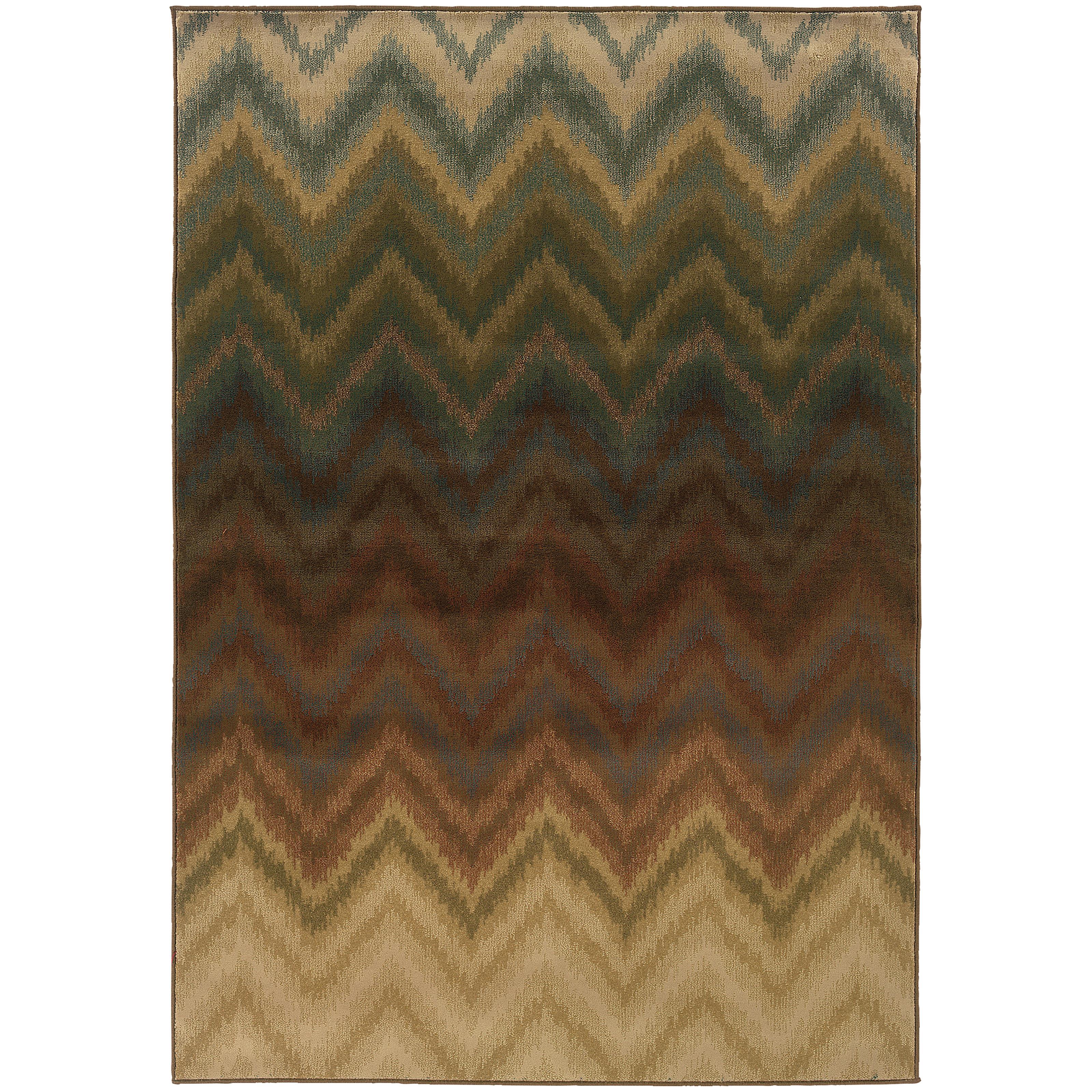 "Oriental Weavers Hudson 5' 3"" X  7' 6"" Rug - Item Number: H3458A160230ST"